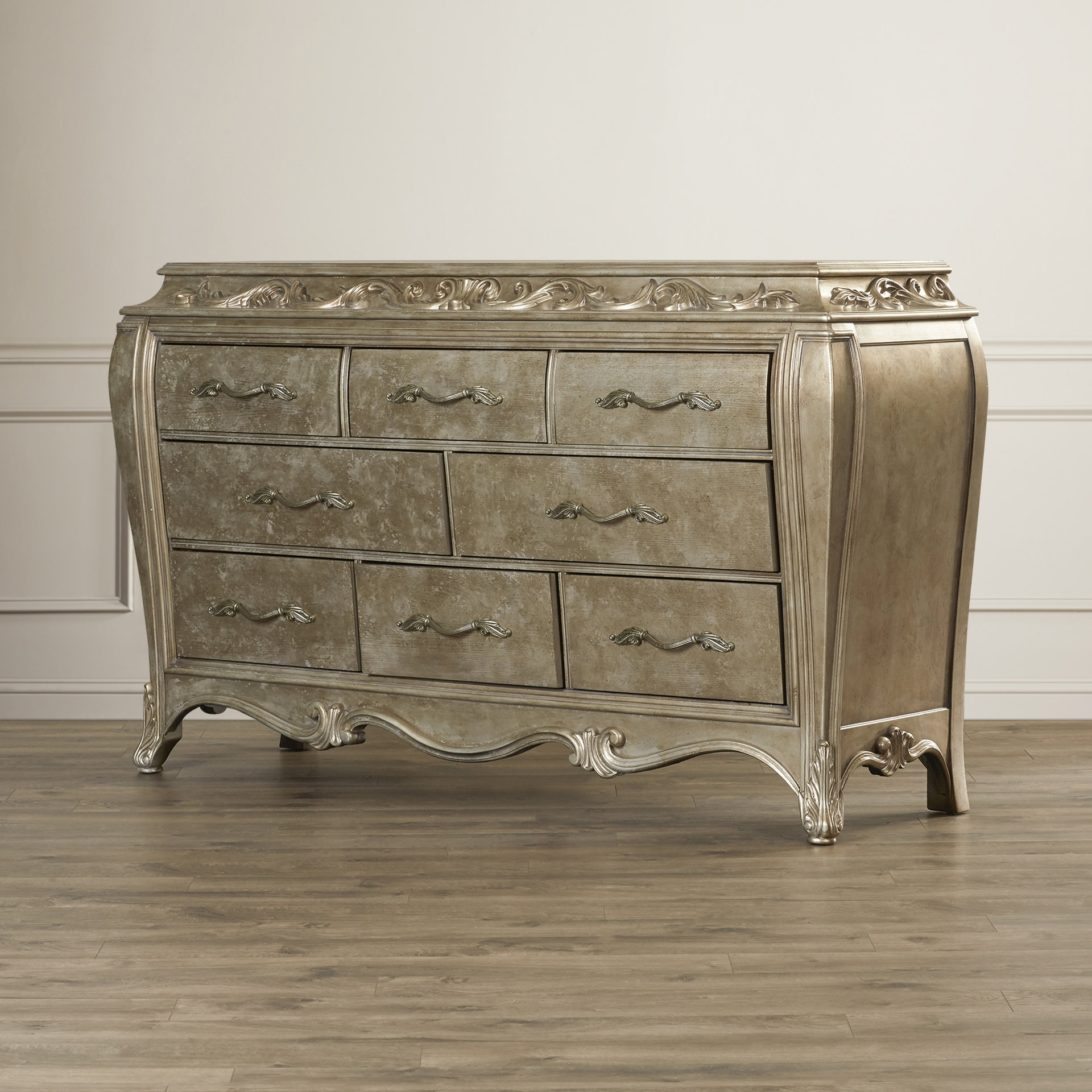 Inspiration about House Of Hampton Holmes 8 Drawer Dresser | Wayfair Intended For Most Current Rani 4 Door Sideboards (#20 of 20)