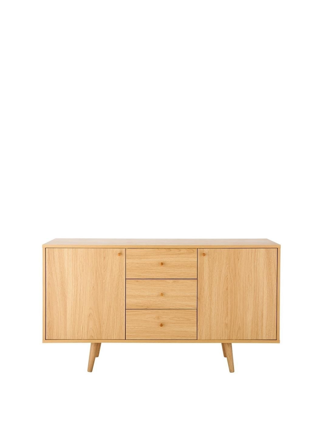 Inspiration about Ideal Home Monty Retro Large Sideboard | New Living Room | Pinterest Within Most Up To Date 3 Drawer/2 Door Sideboards (#12 of 20)