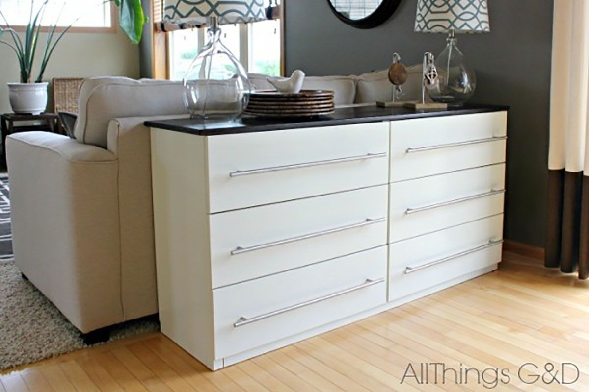Ikea Hack: Wie Aus Deiner Tarva Kommode Ein Stylisches Sideboard In Most Current Jigsaw Refinement Sideboards (#5 of 20)