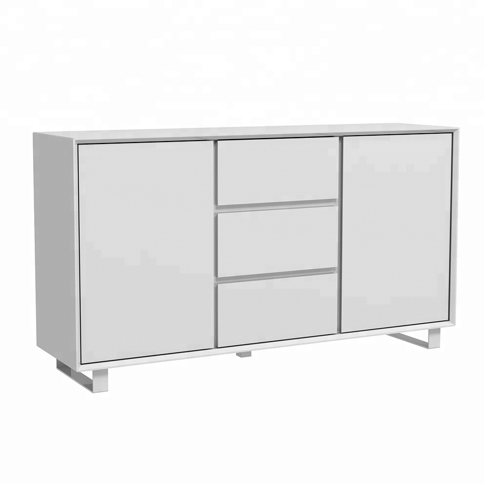 Inspiration about Industrial Metal Wood Sideboard, Industrial Metal Wood Sideboard With Regard To Best And Newest Corrugated Natural 6 Door Sideboards (#8 of 20)