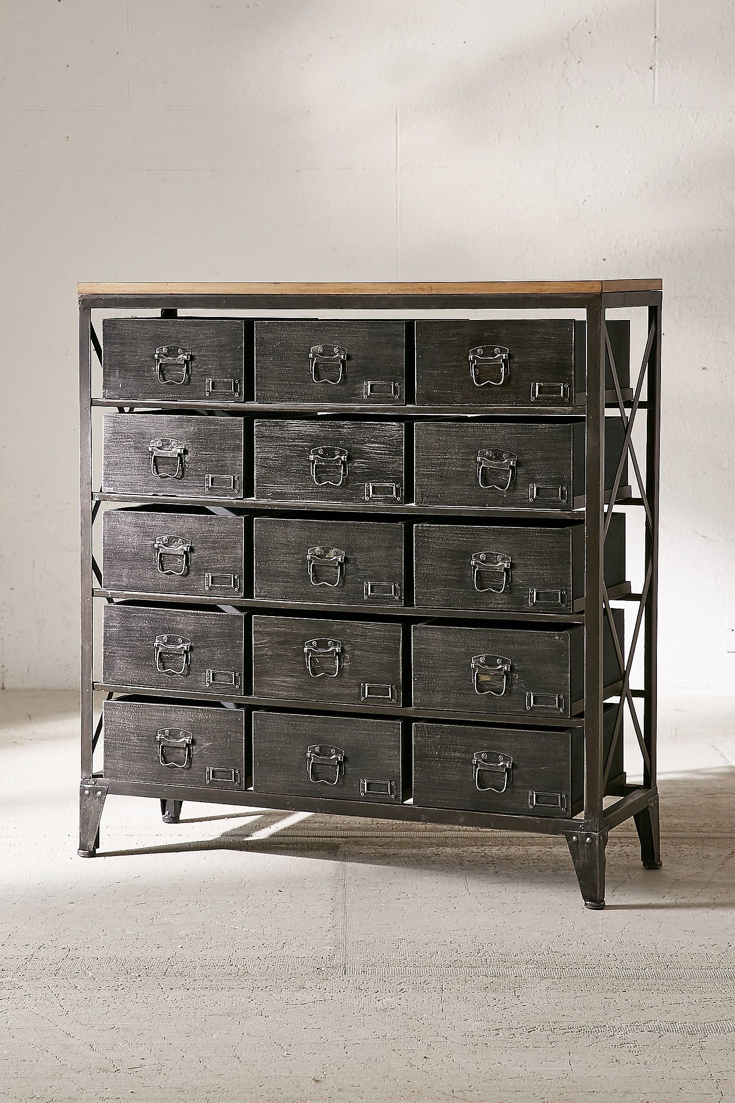 Industrial Storage Dresser | Home: Decor | Pinterest | Industrial For Current Magnolia Home Dylan Sideboards By Joanna Gaines (View 11 of 20)