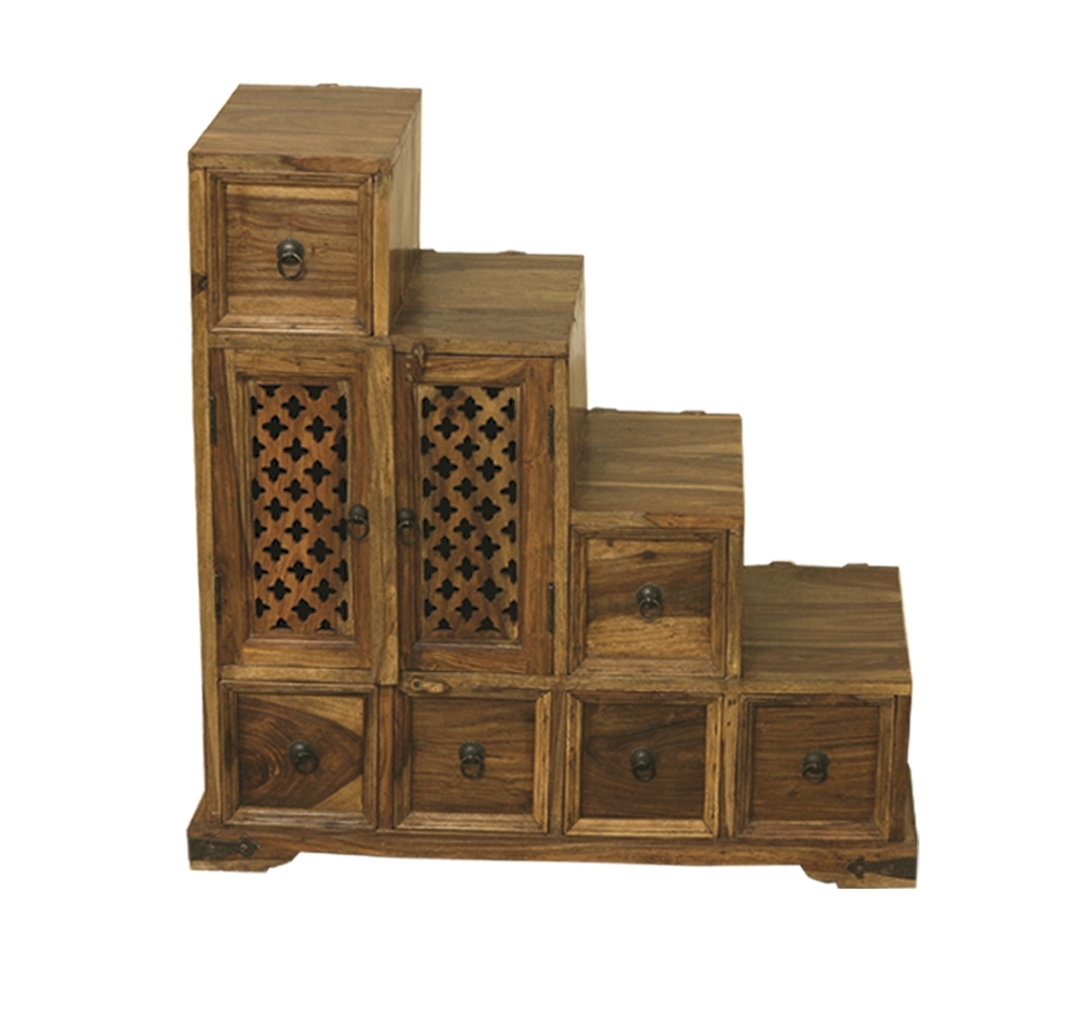 Jali – Quality Indian And Oak Furniture With Most Recently Released 2 Door/2 Drawer Cast Jali Sideboards (View 6 of 20)