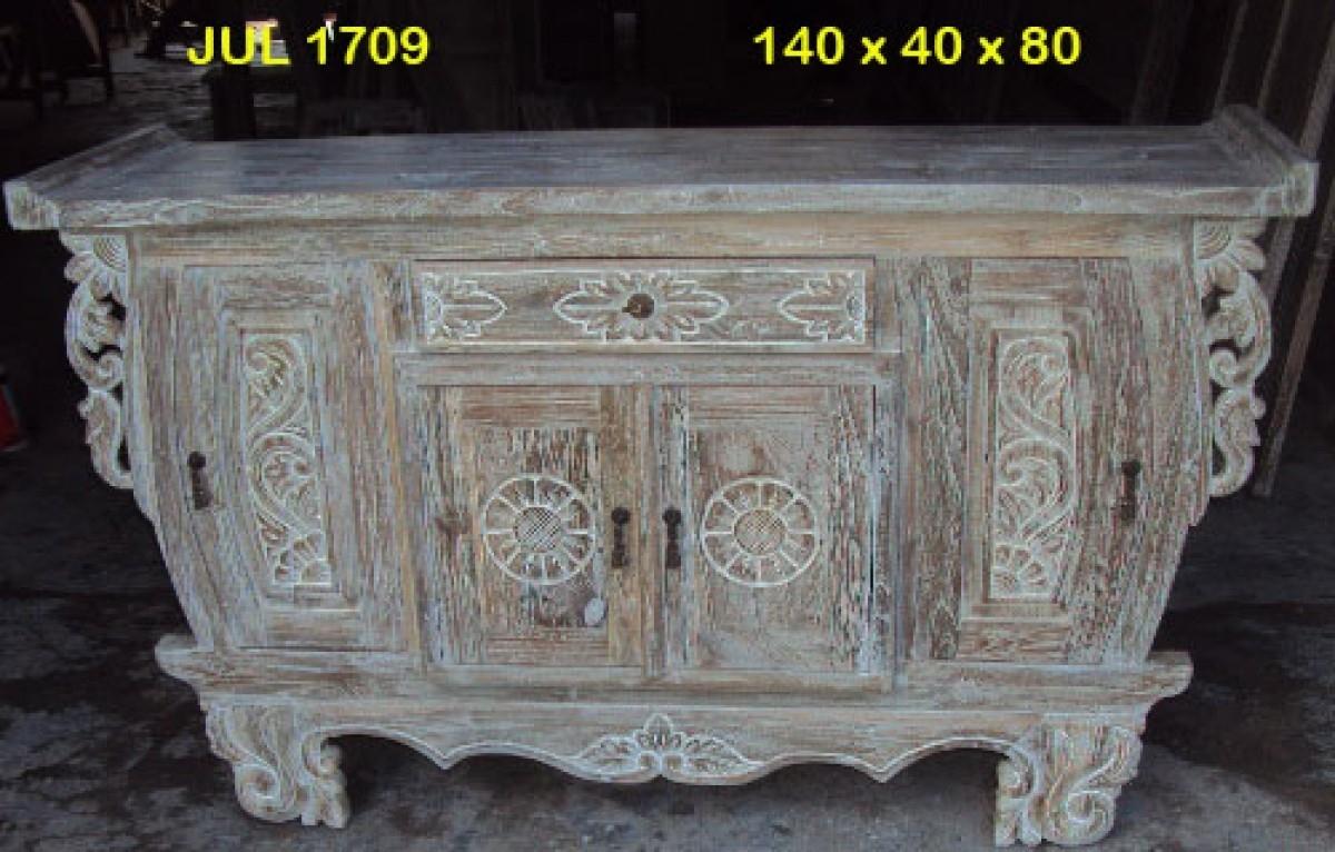 Java Four Door Buffet/vanity | Furniture Australia | Shikara Design Regarding Most Recently Released White Wash Carved Door Jumbo Sideboards (View 8 of 20)