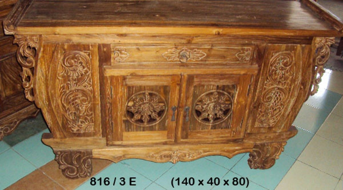 Java Oval 2 Carved Doors Sideboard/vanity | Furniture Australia For Most Up To Date White Wash Carved Door Jumbo Sideboards (View 13 of 20)