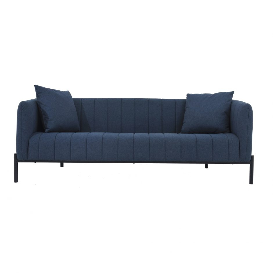 Jaxon Dark Blue Sofa | Products | Moe's Usa Regarding Most Current Jaxon Grey Sideboards (#6 of 20)