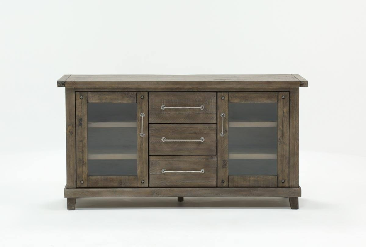 Jaxon Grey Sideboard | Living Spaces Throughout Most Recent Jaxon Sideboards (View 3 of 20)