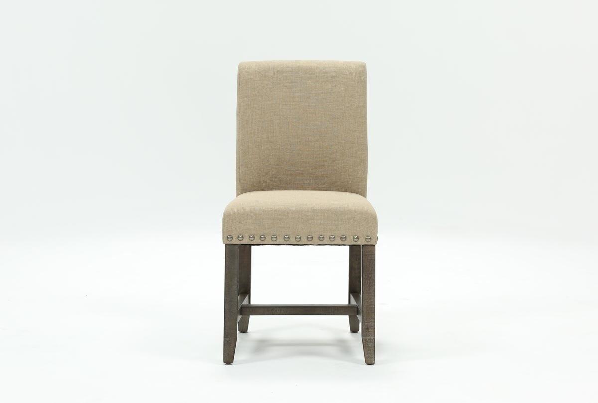 Popular Photo of Jaxon Grey Wood Side Chairs