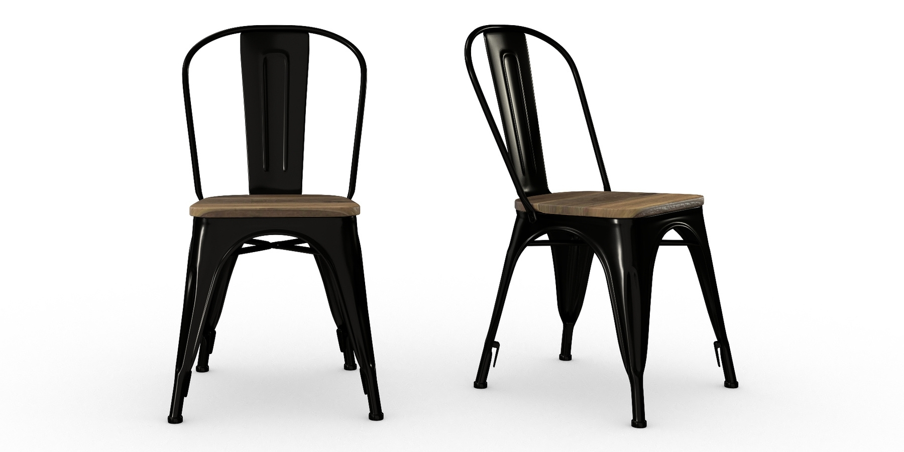 Jaxon Wood Side Chairs With Fashionable Buyer's Guide Dining Chairs (#6 of 20)