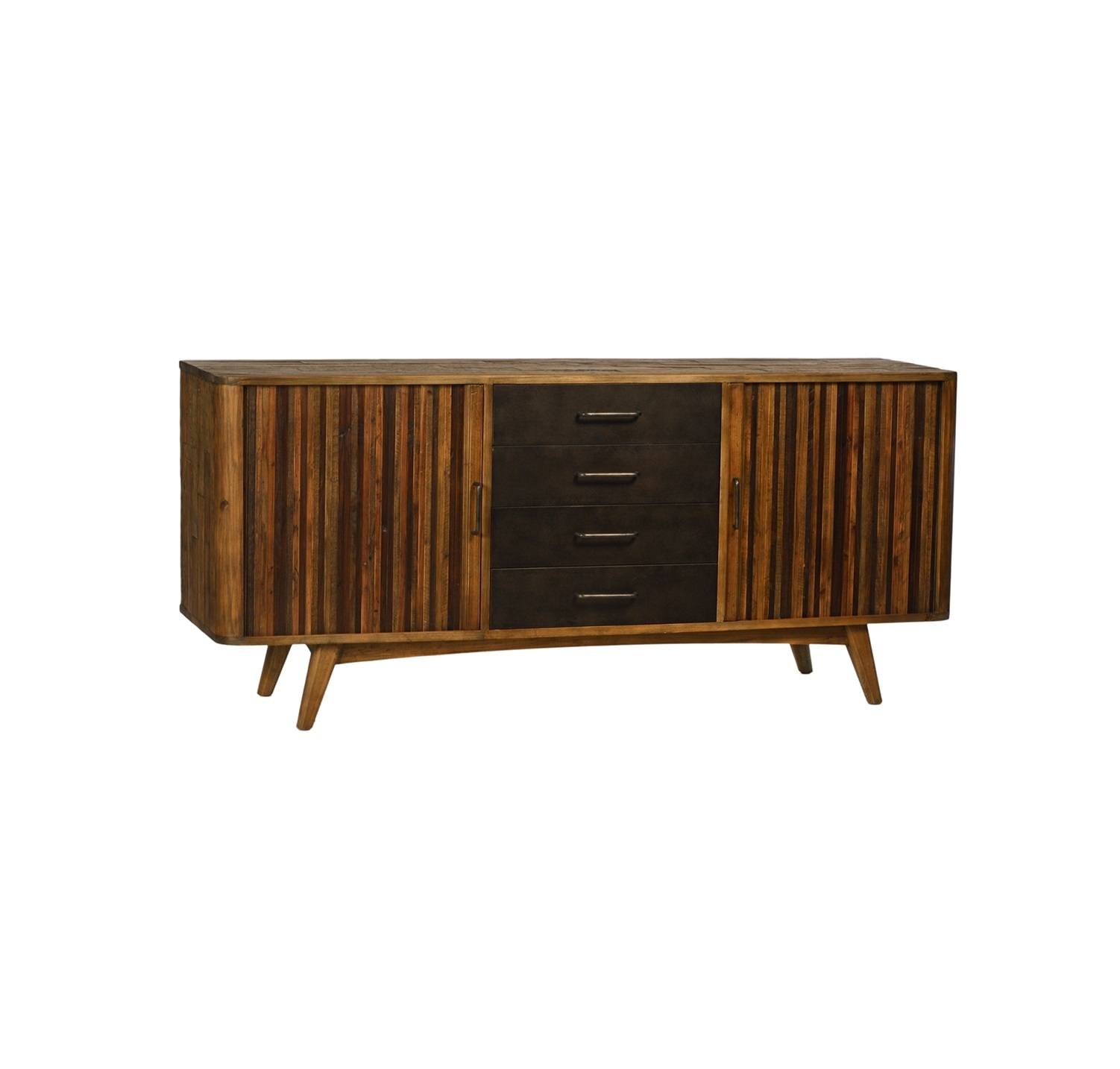 Jeremy Sideboard For Most Popular Rustic Black & Zebra Pine Sideboards (View 6 of 20)