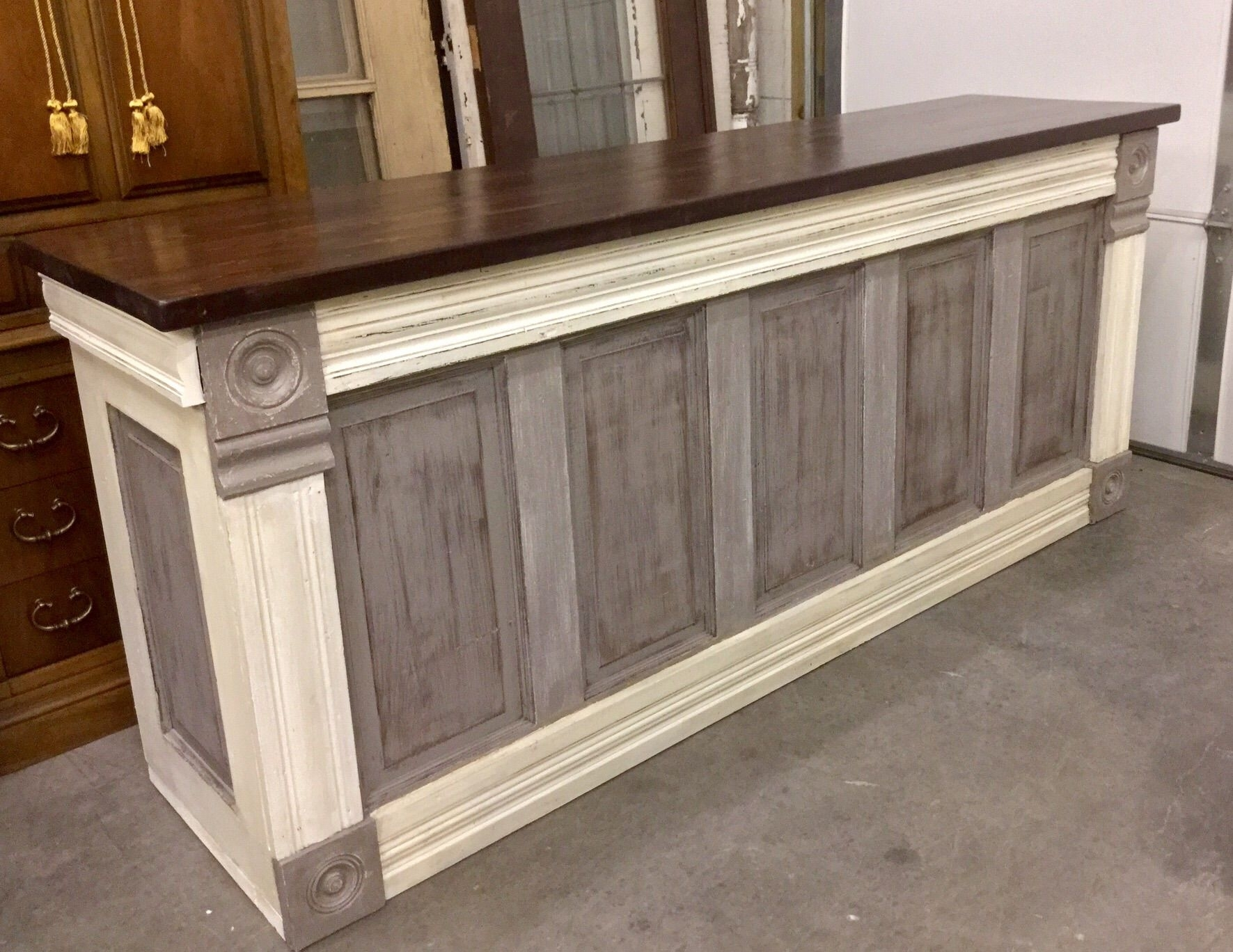 Just Finished This Urban Chic Custom Counter This Evening (View 19 of 20)