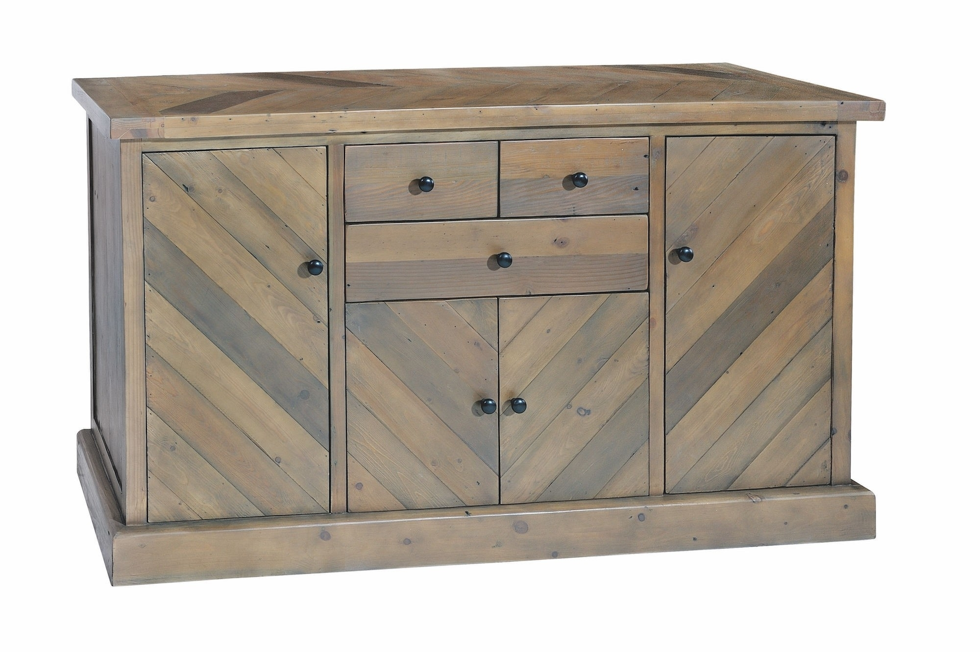 Kempston Parquet Large Sideboard – Style Our Home Inside Recent Parquet Sideboards (#9 of 20)