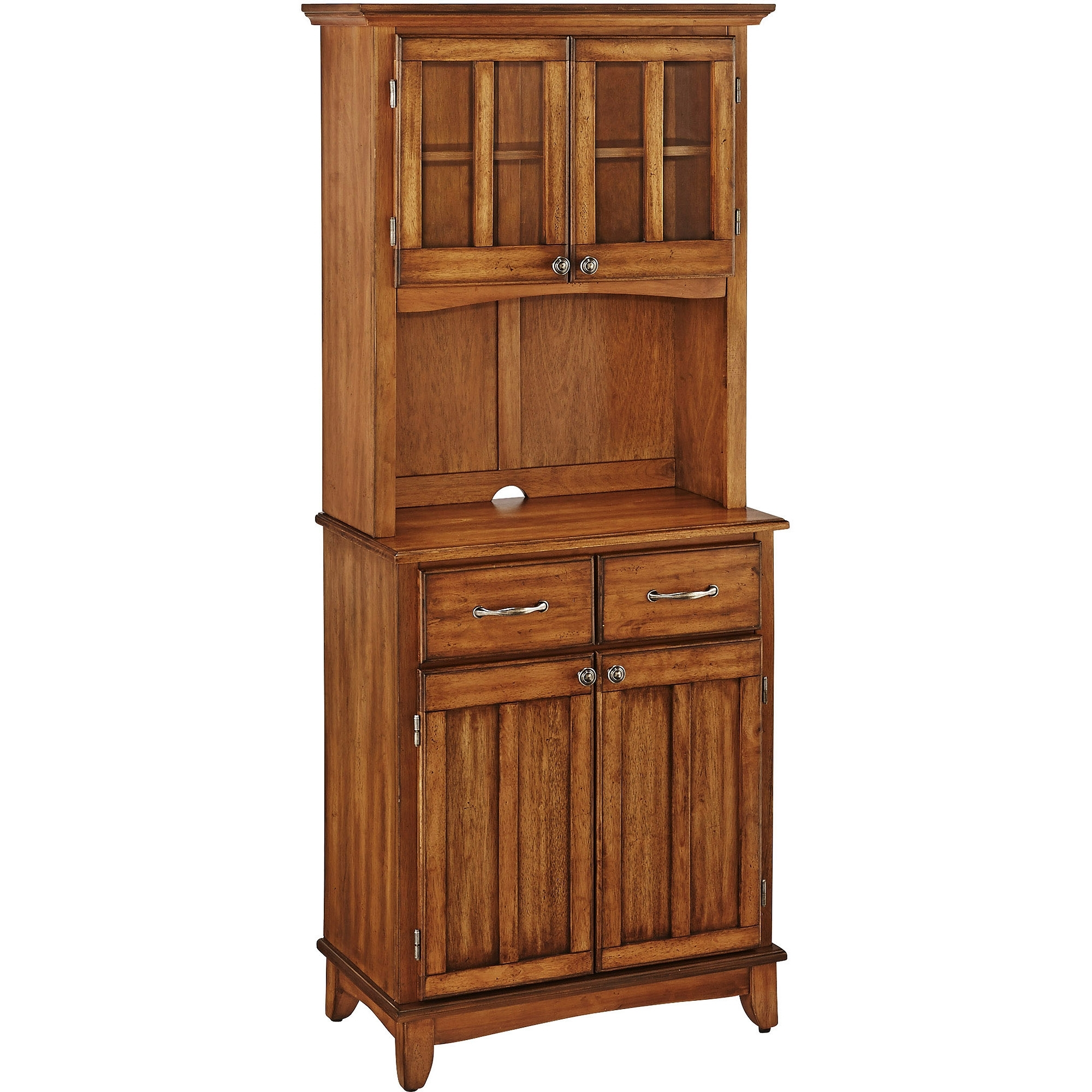 Kitchen Buffet Hutch In 2017 Mid Burnt Oak 71 Inch Sideboards (View 16 of 20)
