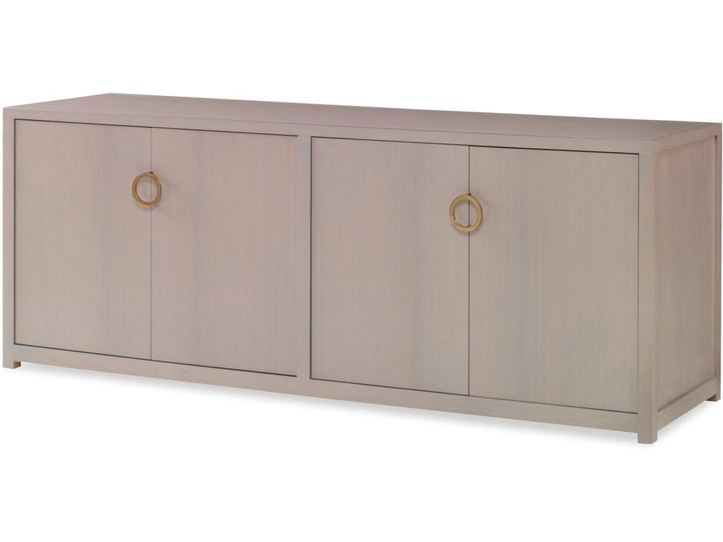 Kravet Combe Media Cabinet With Doors Hsb14C   Sideboards/dressers Inside Newest Square Brass 4 Door Sideboards (#13 of 20)
