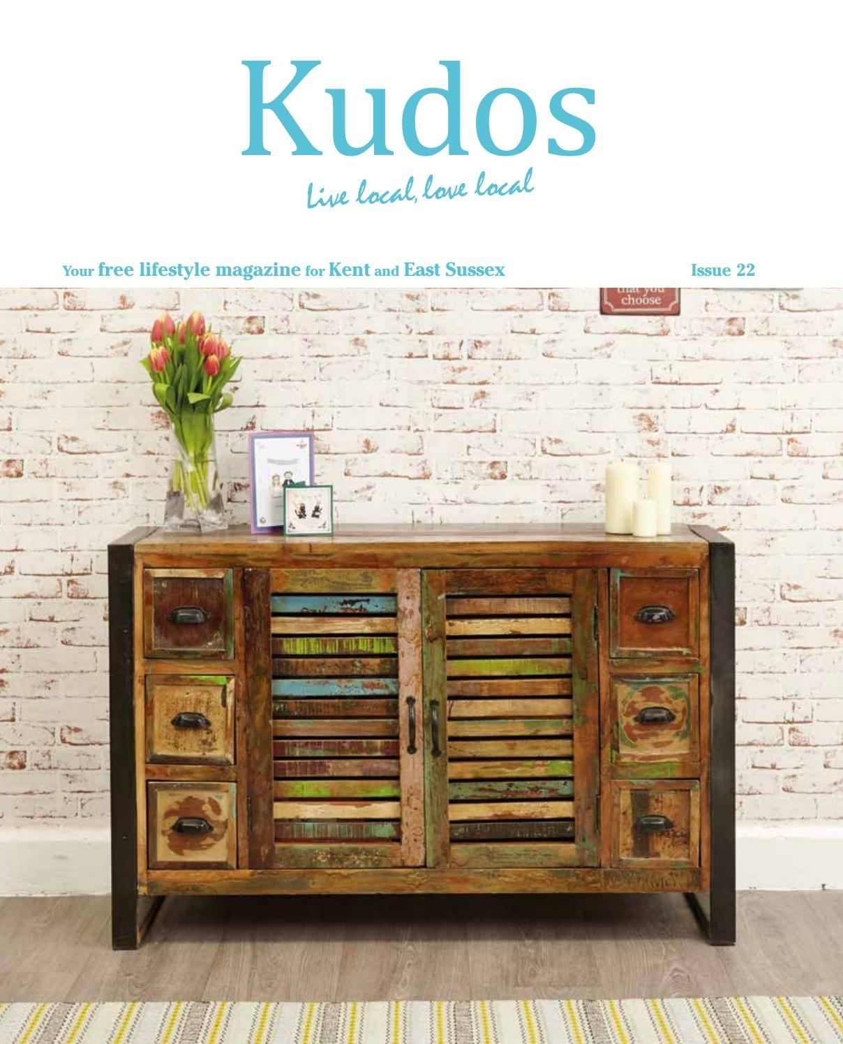 Kudos Issue 22Kudos Kent – Issuu Throughout Recent Bale Rustic Grey Sideboards (#13 of 20)