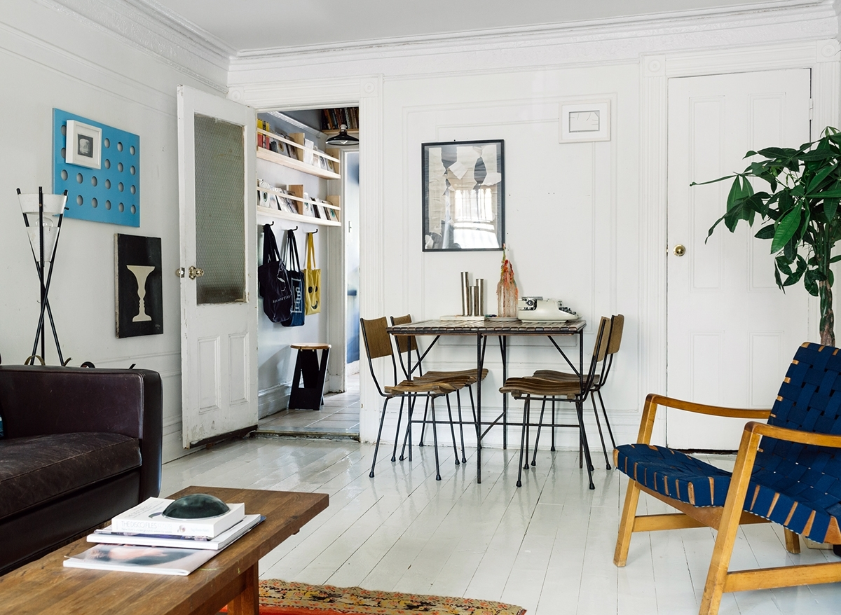 Kyle Side Chairs Pertaining To Well Liked The Brooklyn Brownstone Of Sit + Read's Kyle Garner And Sharktooth's (#10 of 20)