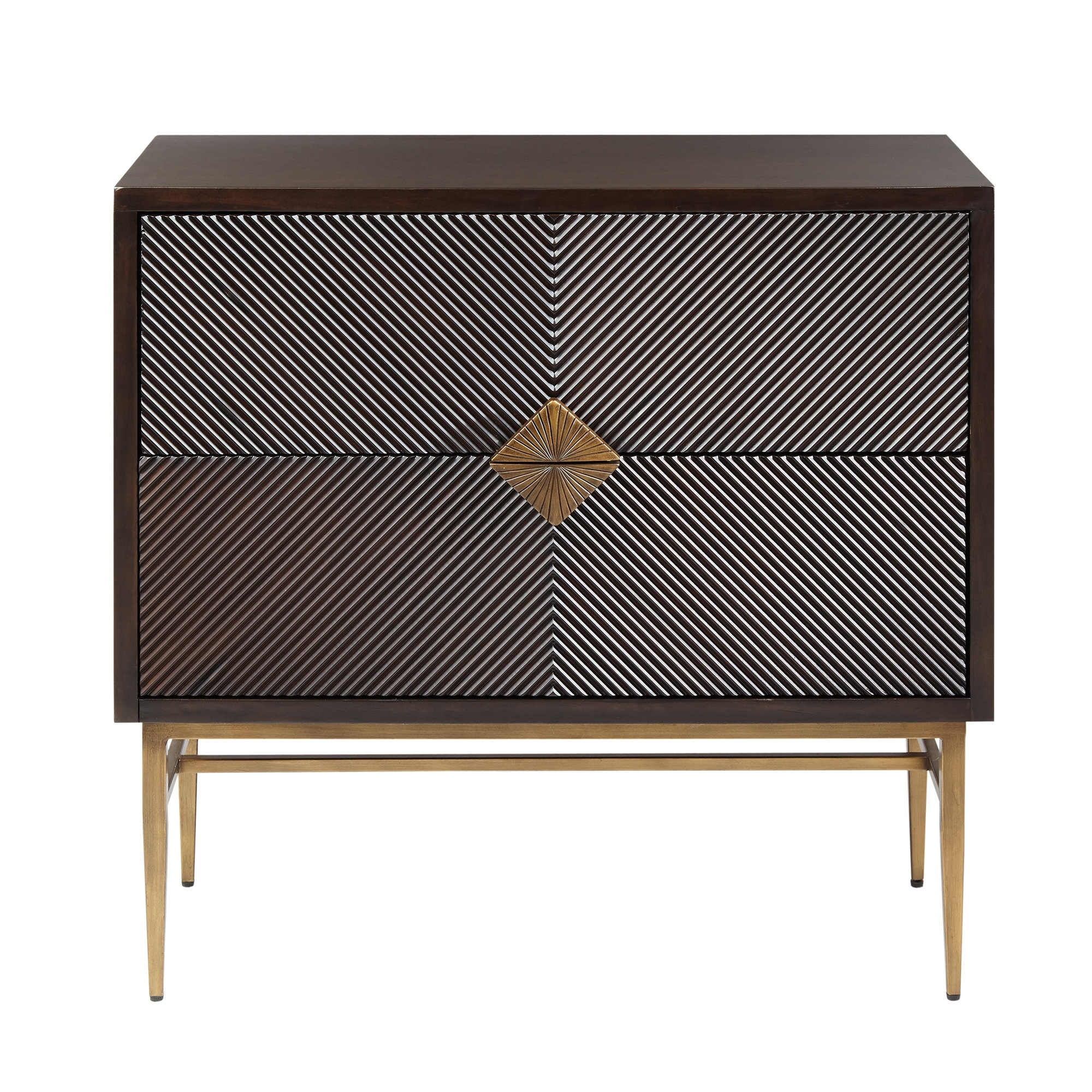 Inspiration about Langley Street Tobias 2 Drawer Accent Chest & Reviews | Wayfair With Regard To Best And Newest Tobias 4 Door Sideboards (#14 of 20)