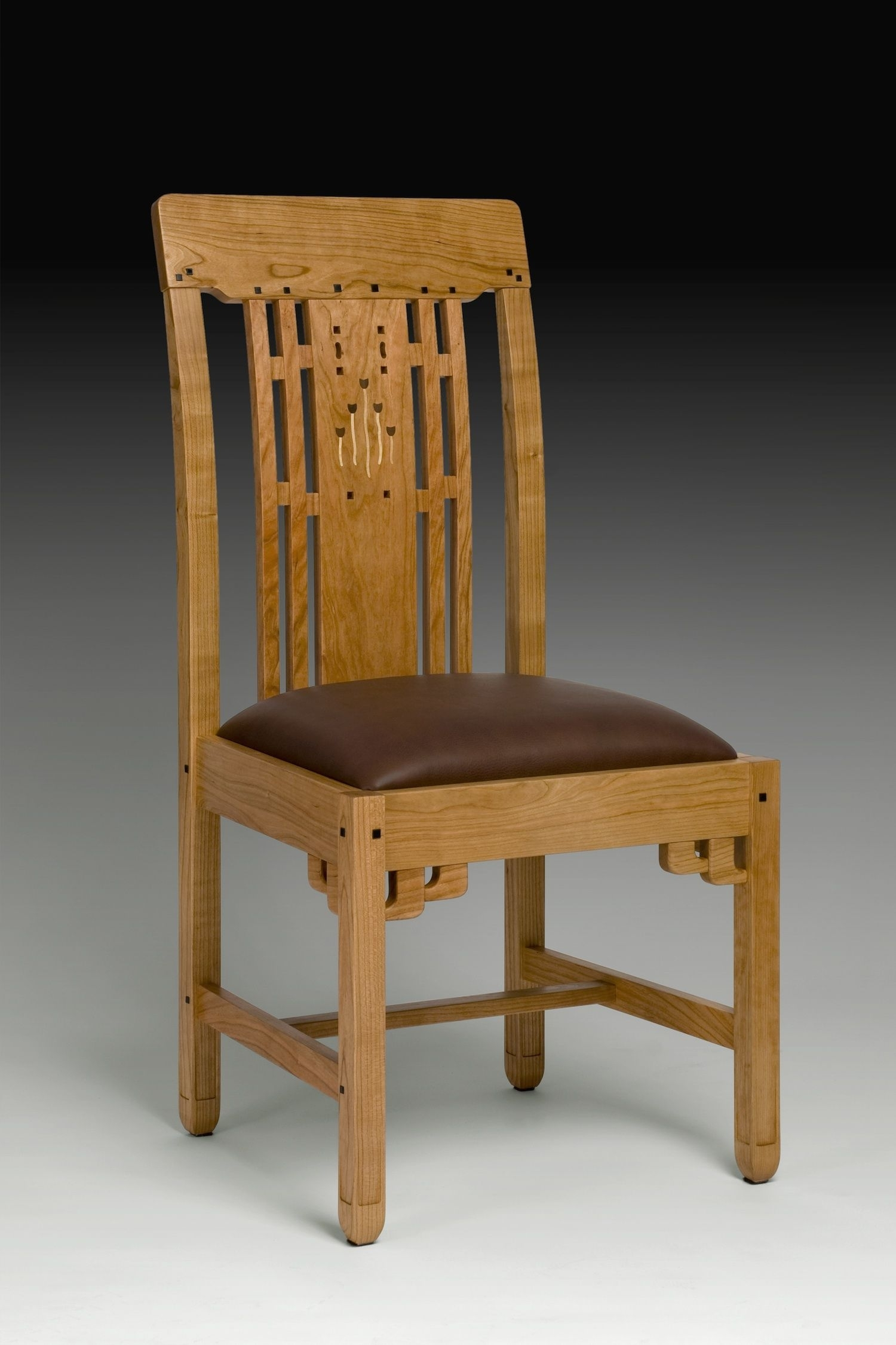 Inspiration about Latest Craftsman Side Chairs Within Blacker House Side Chair (#4 of 20)