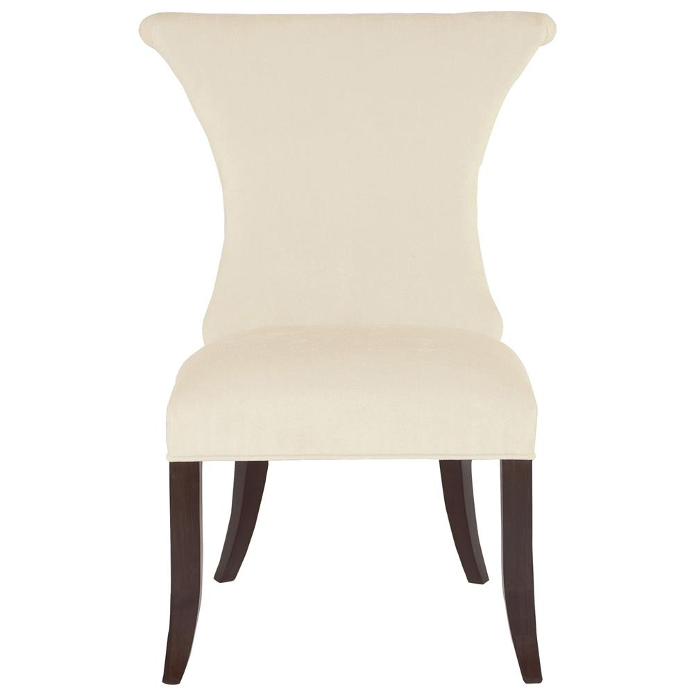Latest Crawford Side Chairs Pertaining To Crawford Modern Classic Ring Pull Ivory Side Chair (#11 of 20)