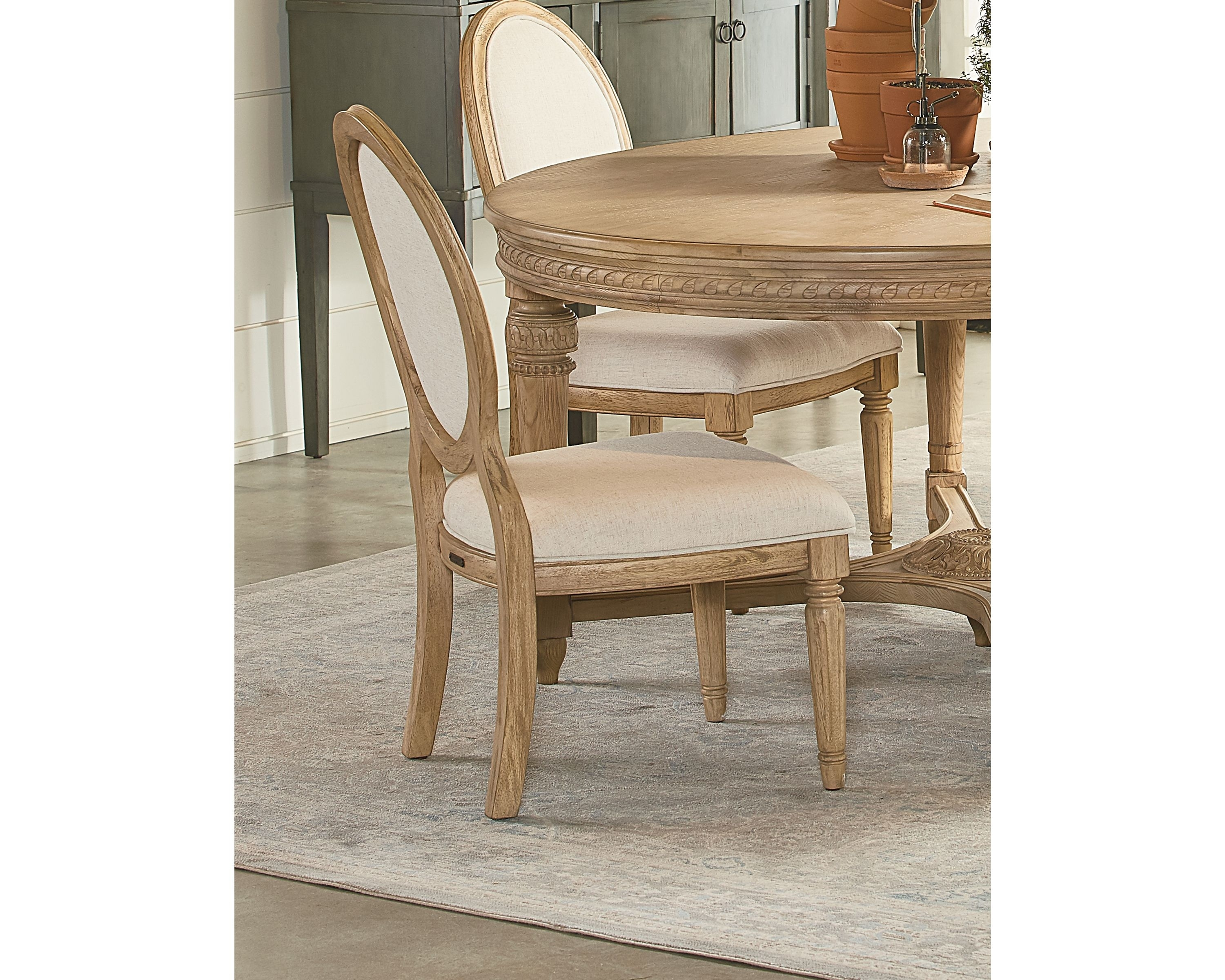Inspiration about Latest Emery Side Chair – Magnolia Home Pertaining To Magnolia Home Emery Ivory Burlap Side Chairs (#1 of 20)