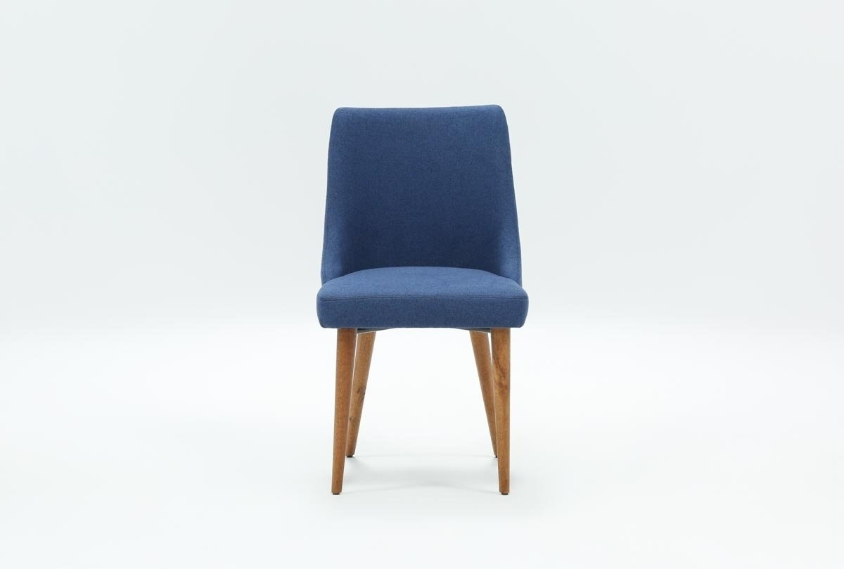 Popular Photo of Moda Blue Side Chairs