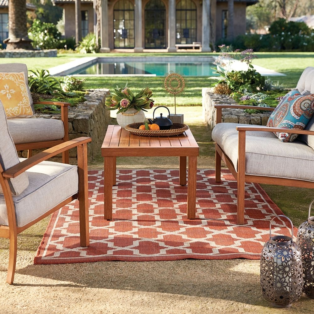 Inspiration about Latest San Clemente Seating Set 4 Piece (#12 of 20)