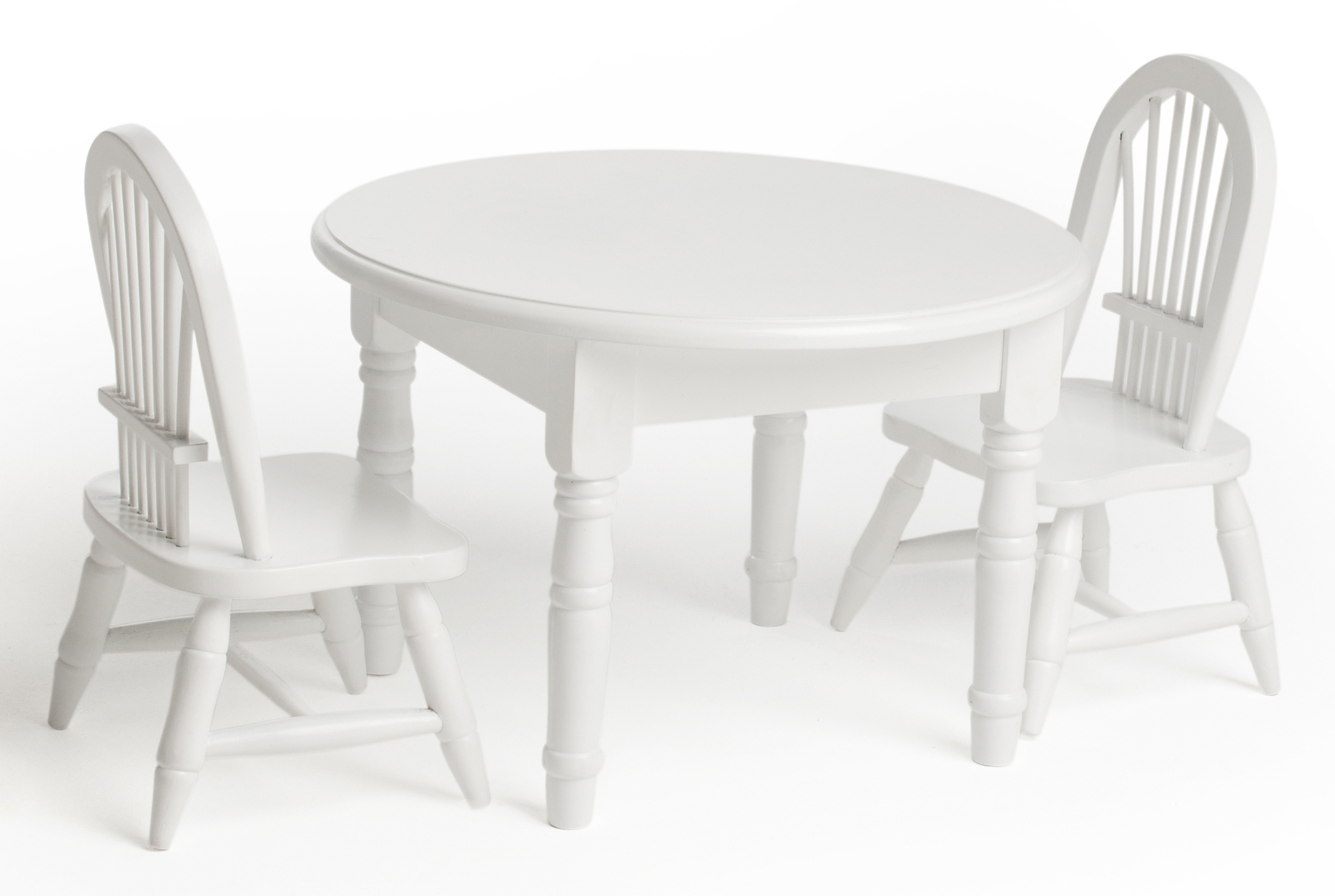 Lauren Doll's Doll Table And Chairs Wins A Pal Award Inside Newest Laurent Wood Side Chairs (#9 of 20)