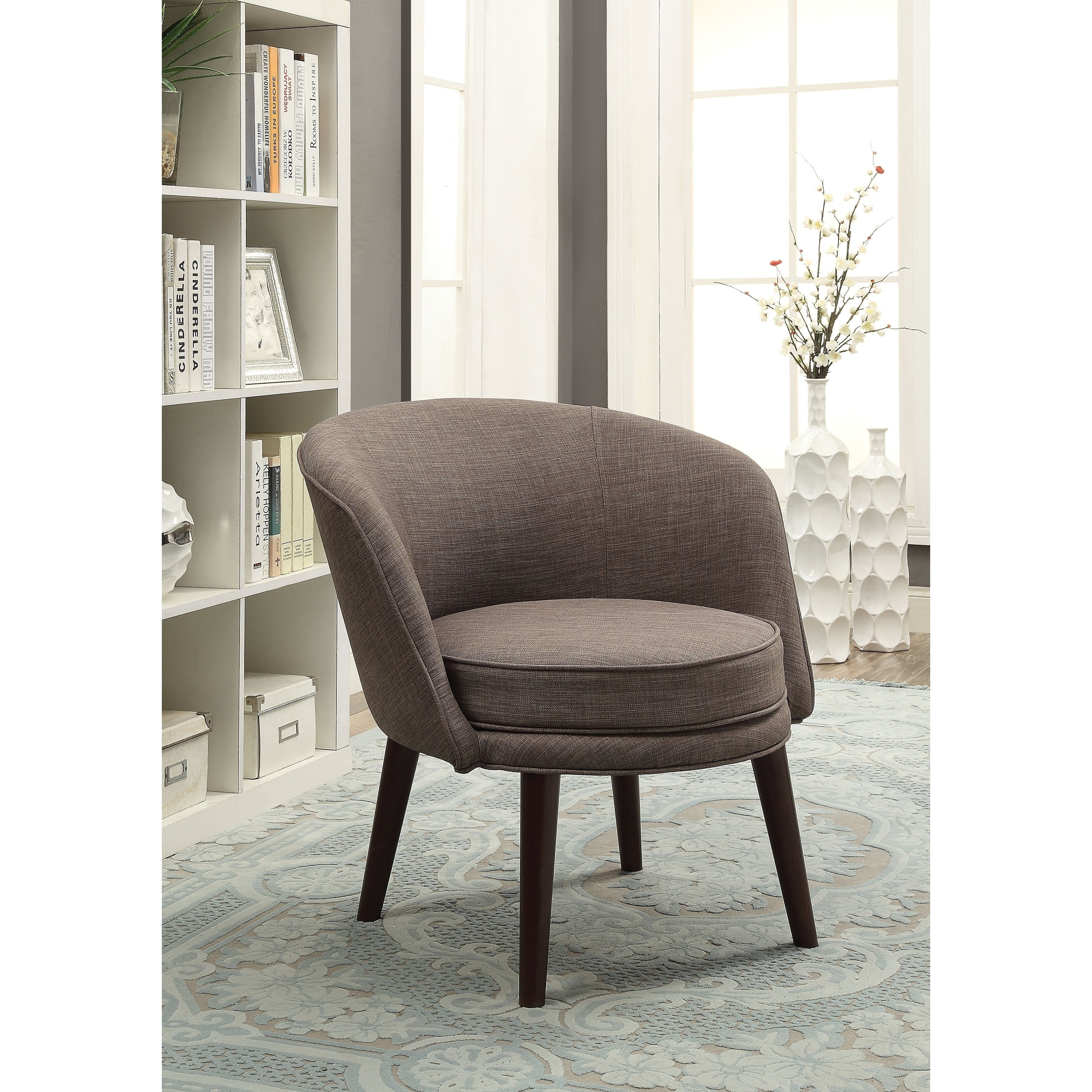 Laurent Host Arm Chairs Intended For Most Up To Date Shop Avianna Accent Chair – Free Shipping Today – Overstock (#8 of 20)