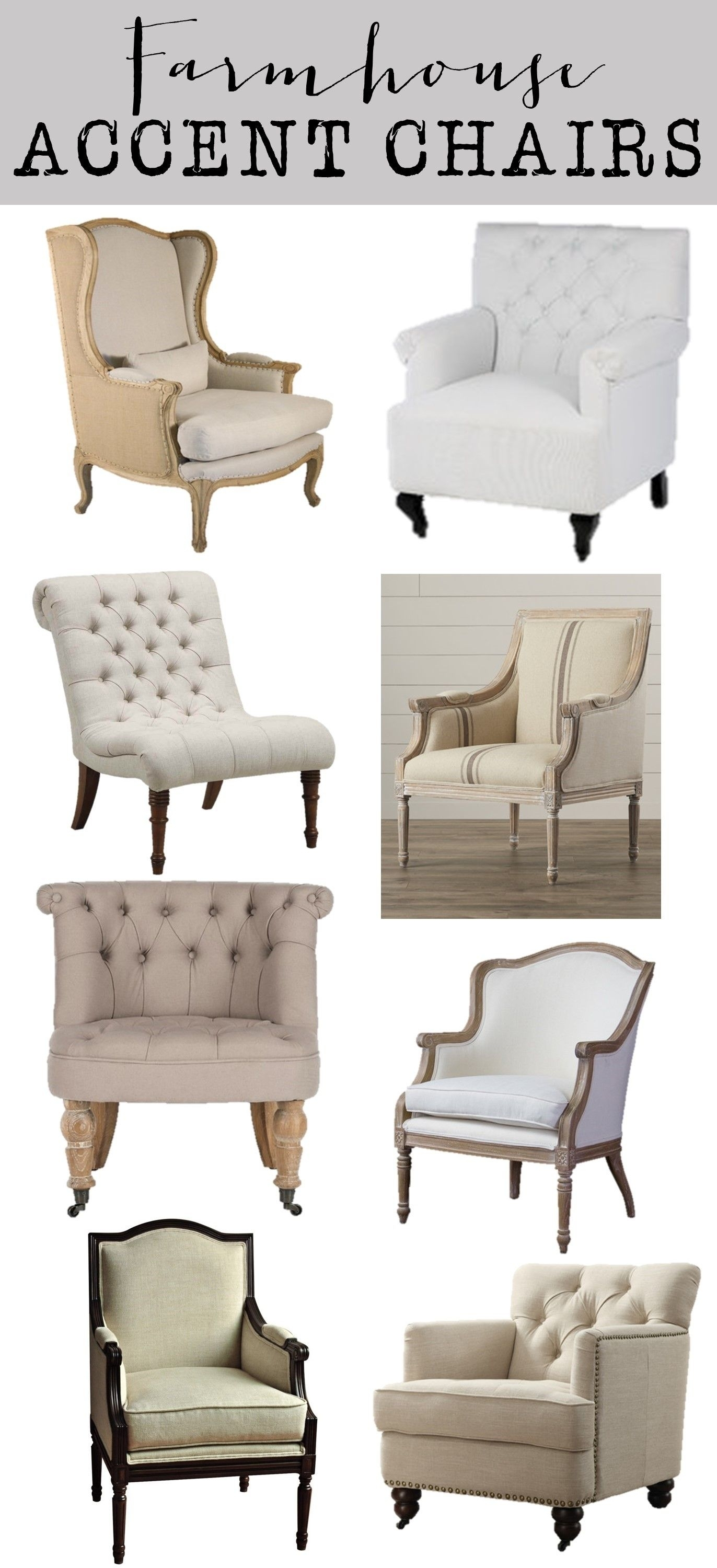 Inspiration about Laurent Host Arm Chairs With 2019 Friday Favorites: Farmhouse Accent Chairs – House Of Hargrove (#12 of 20)