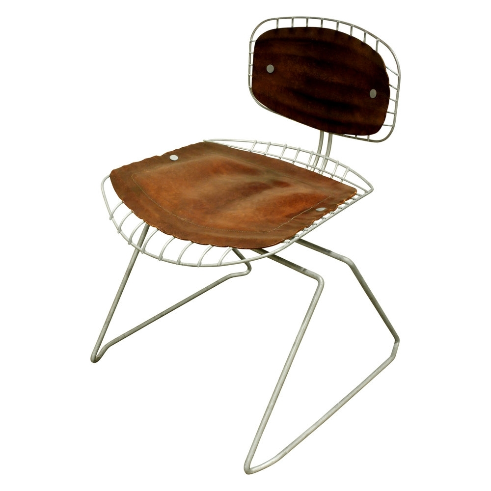 "Laurent Wood Side Chairs In Widely Used Michel Cadestin & Georges Laurent Set Of 4 ""beaubourg"" Dining Chairs (#10 of 20)"