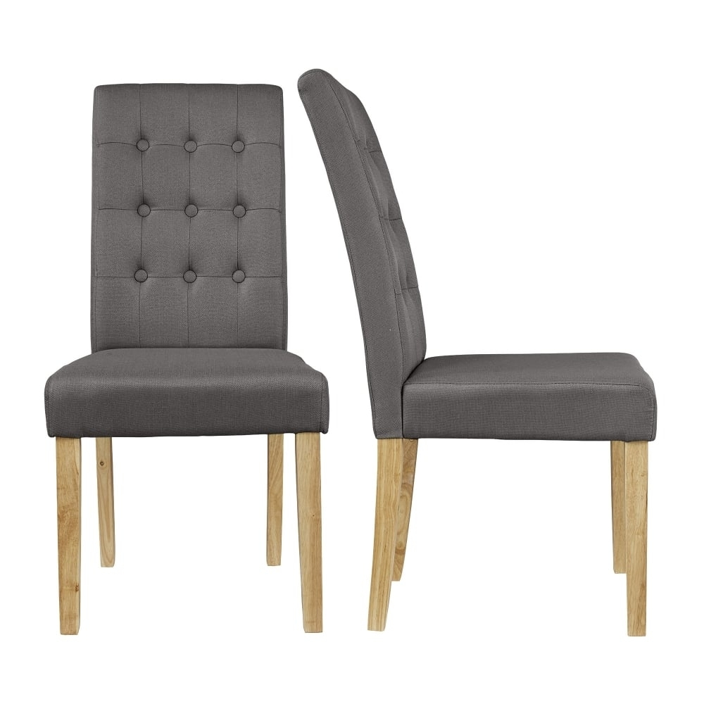 Leader Stores Throughout Most Recently Released Grey Dining Chairs (#9 of 20)