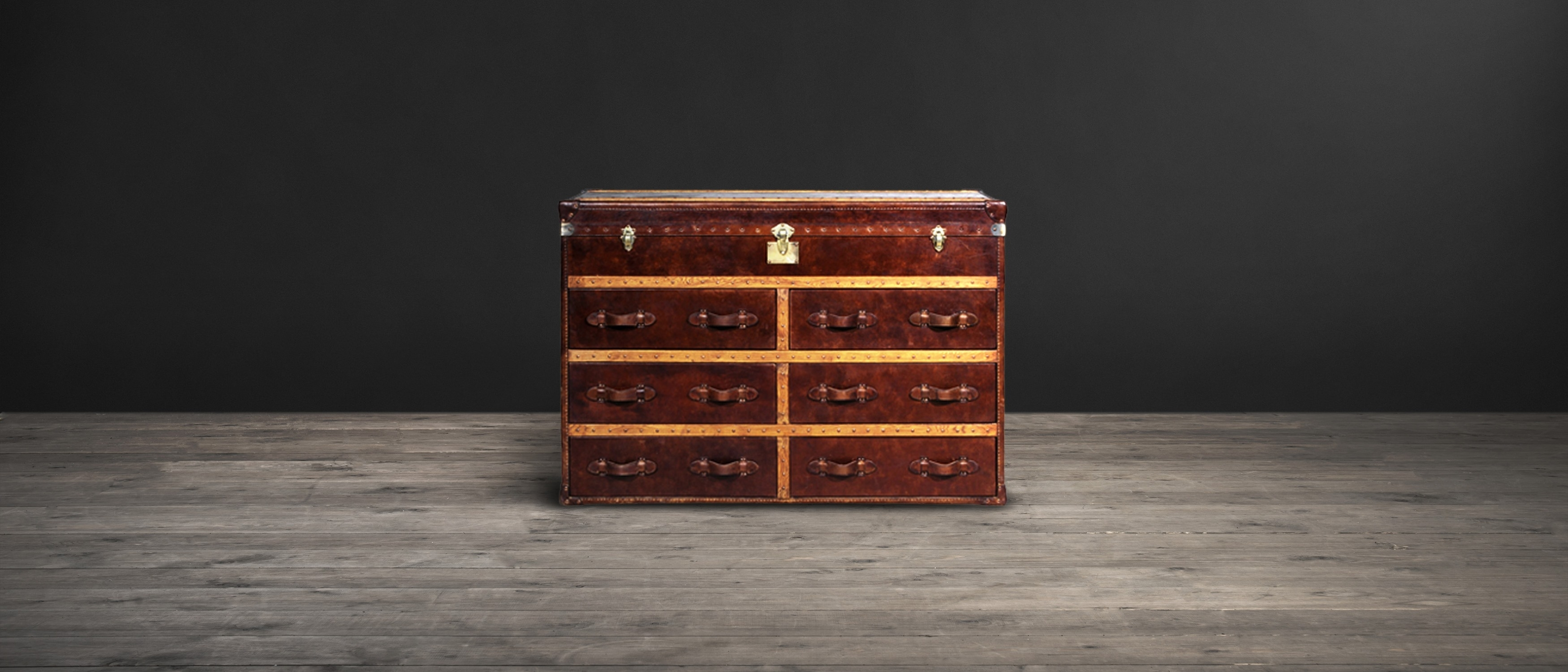 Inspiration about Leather Sideboards – Ampleforth | Timothy Oulton For 2018 Vintage Brown Textured Sideboards (#20 of 20)