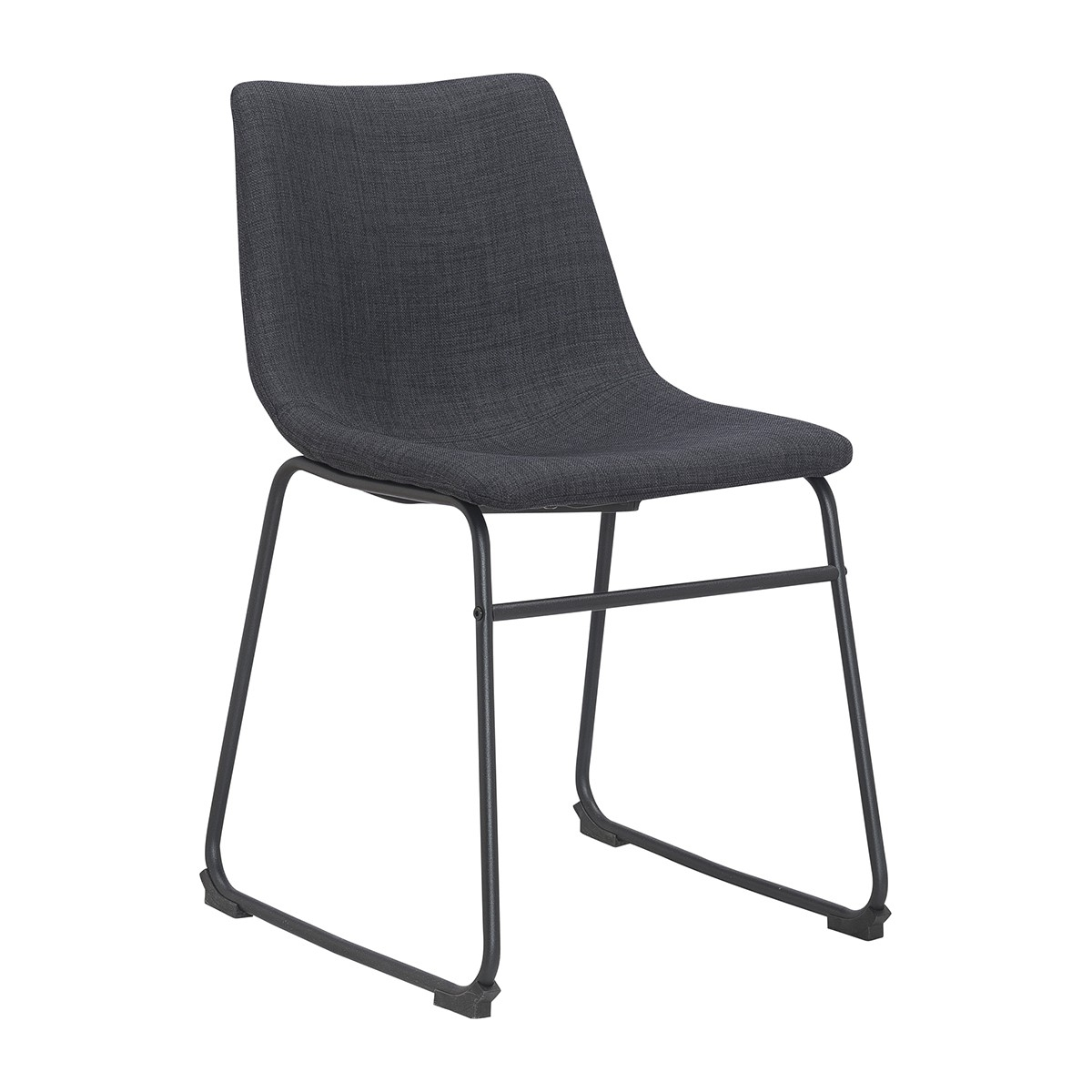 Life Interiors – Bailey Dining Chair (Charcoal) – Modern Dining Within 2018 Charcoal Dining Chairs (#14 of 20)