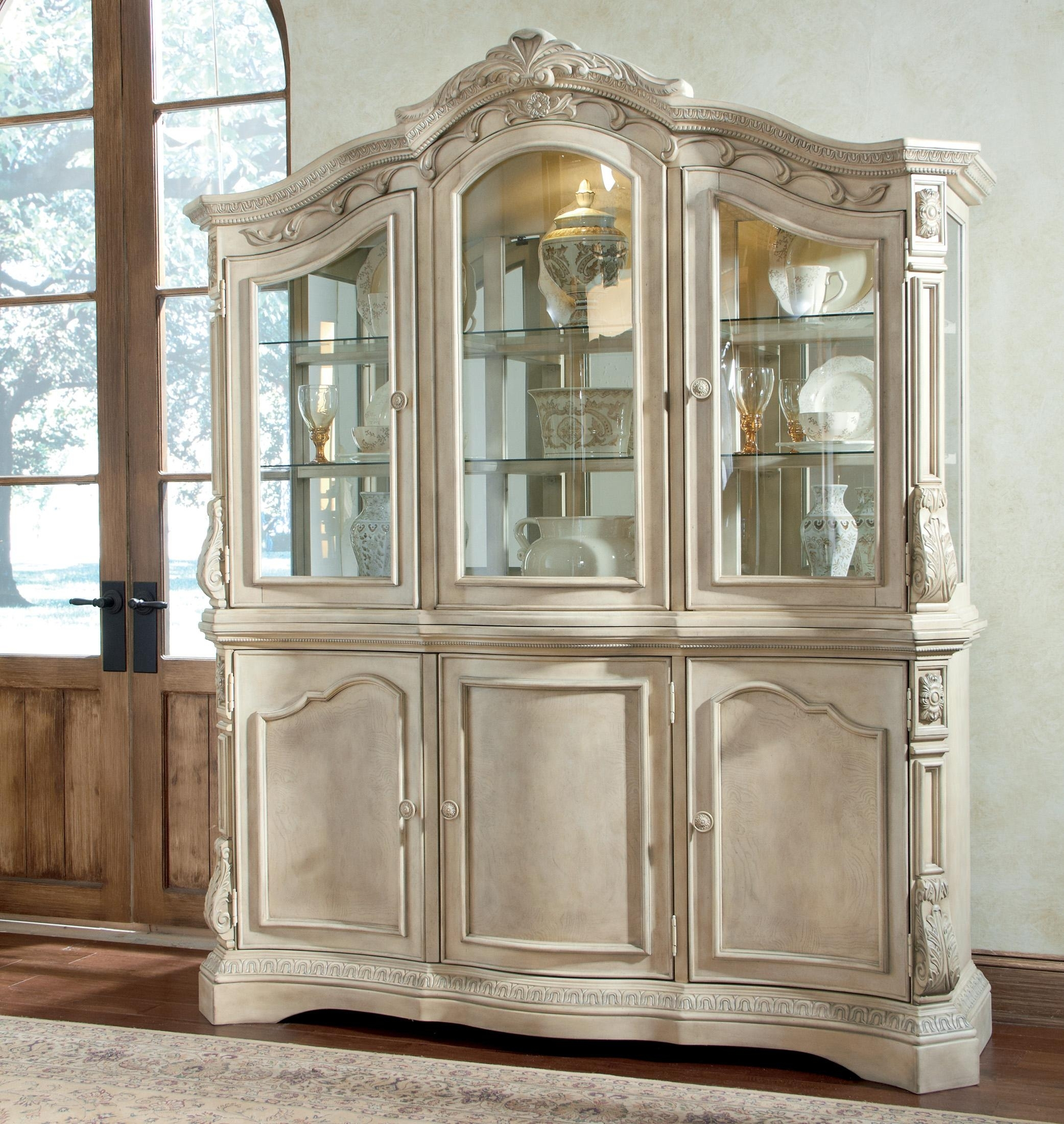 Inspiration about Light Oak Corner China Cabinet – Cabinets Decorating Ideas For Latest Rhya 4 Door Sideboards (#3 of 20)