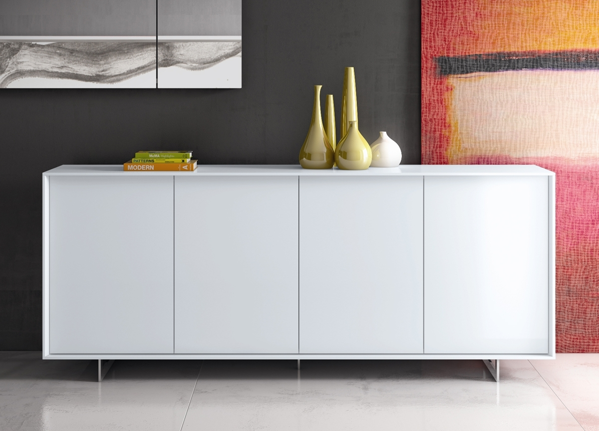 Inspiration about Lima Contemporary Sideboard | Modern Furniture | Modern Sideboards With Regard To Most Up To Date Walnut Finish Contempo Sideboards (#4 of 20)
