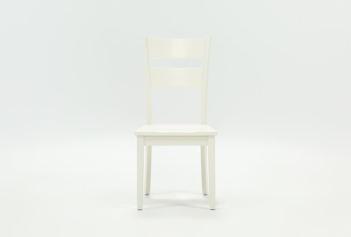 Popular Photo of Mandy Paper White Side Chairs