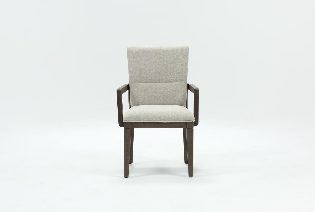 Living Spaces With Regard To Walden Upholstered Arm Chairs (#4 of 20)