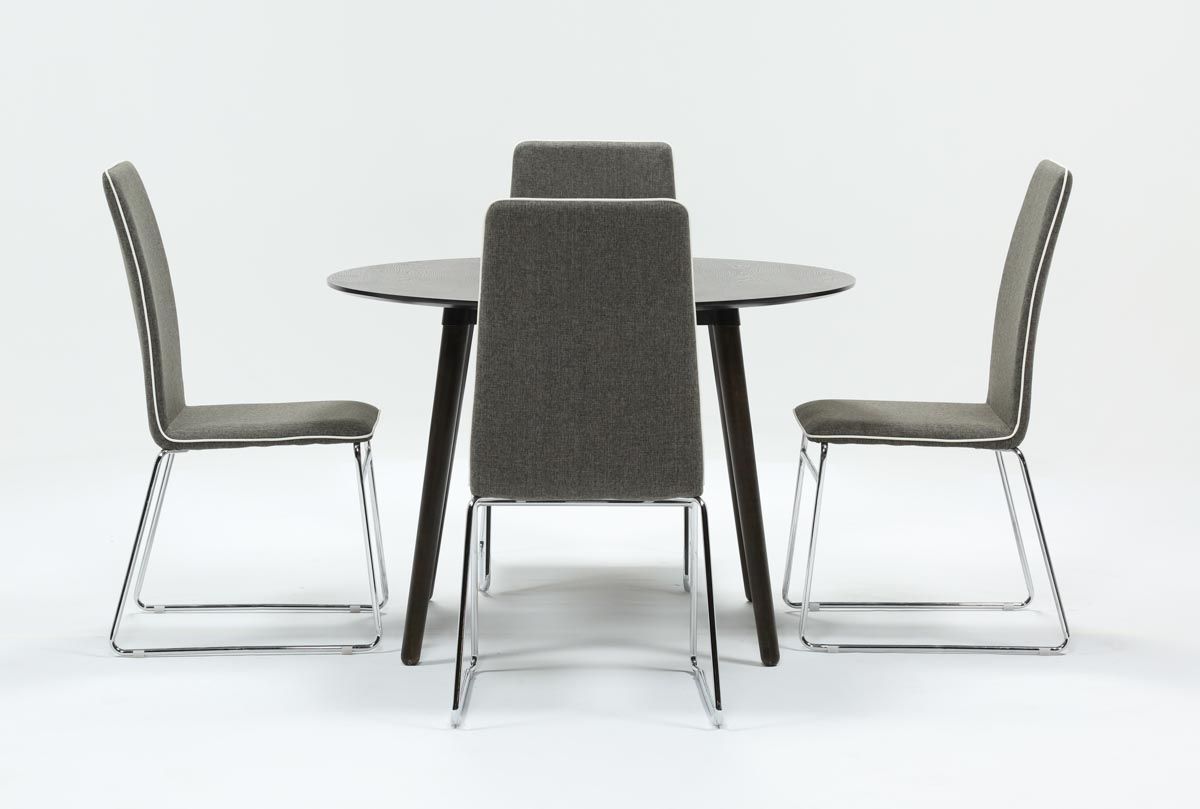 Living Spaces With Swift Side Chairs (#7 of 20)