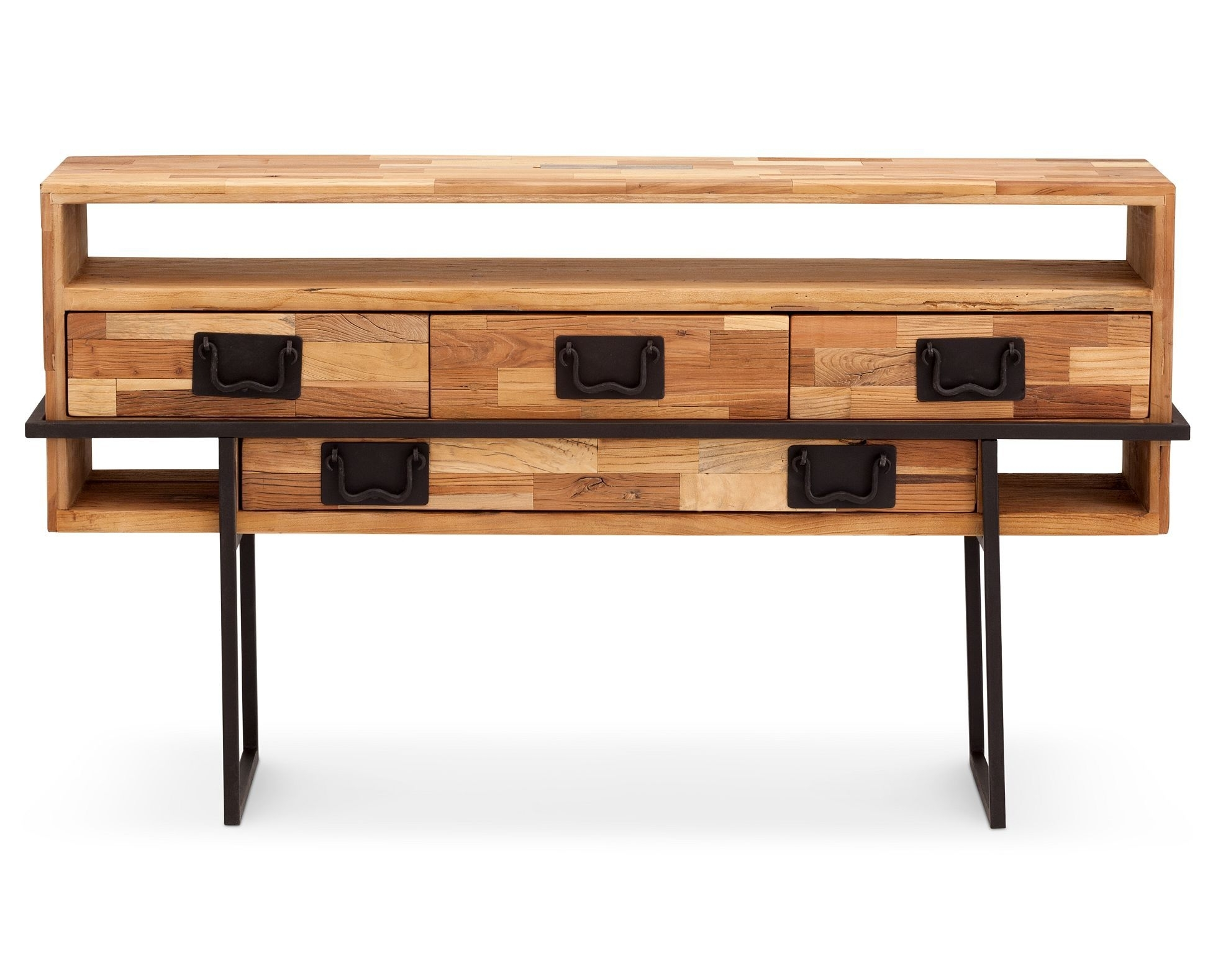 Inspiration about Logan Elm Console | Décor | Pinterest | Recycled Wood, Console And Wood Regarding Best And Newest Reclaimed Elm 91 Inch Sideboards (#14 of 20)