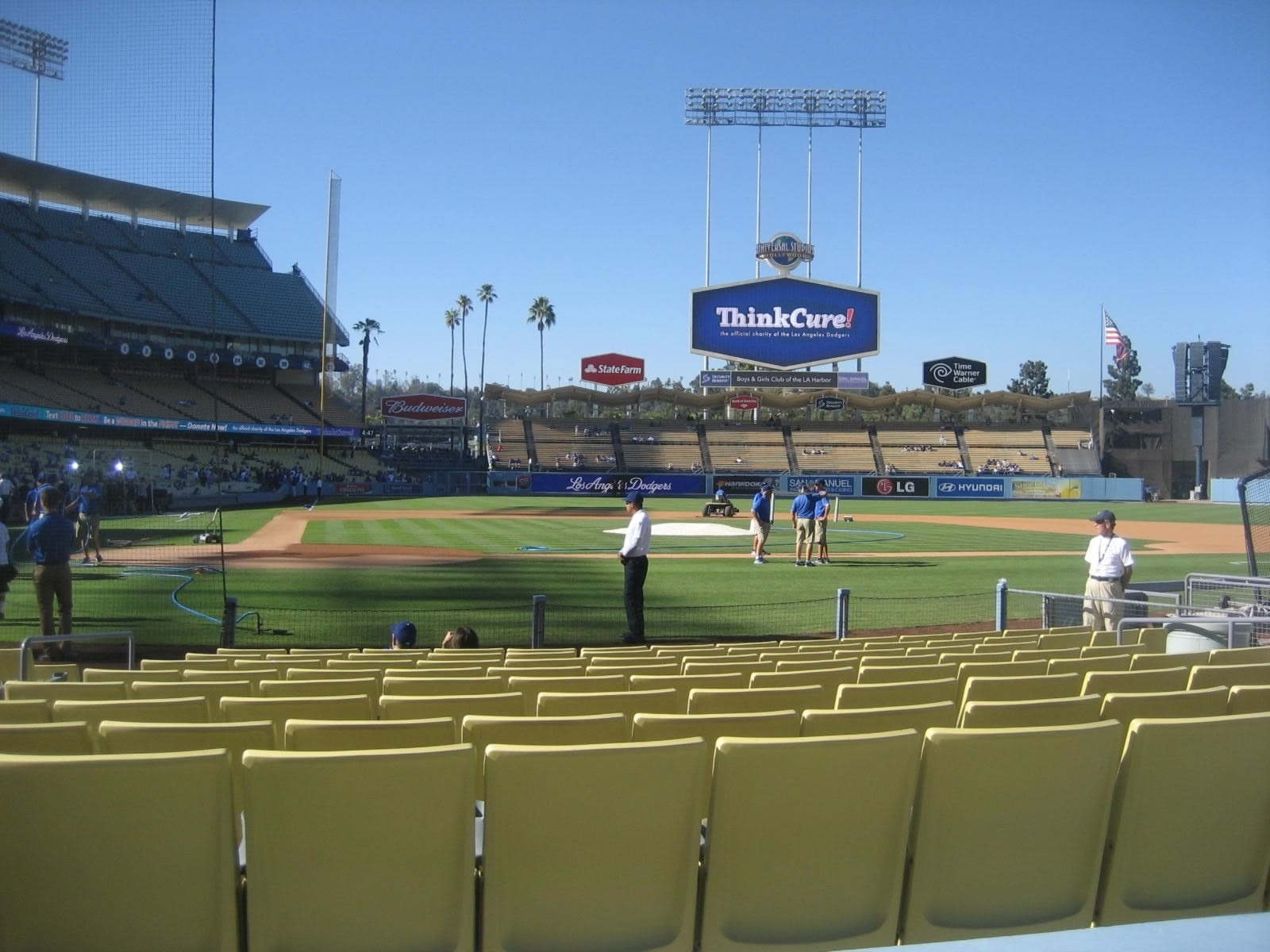 Los Angeles Dodgers Seating Guide – Dodger Stadium – Rateyourseats With Regard To Fashionable Dodger Side Chairs (View 13 of 20)