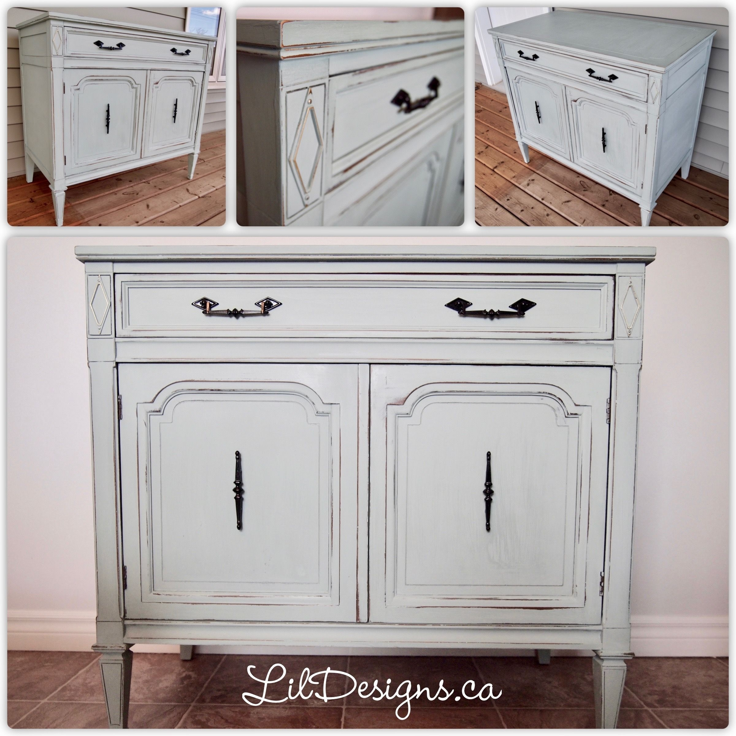 Lovely 1 Drawer 2 Door Accent Cabinet (#10 of 20)