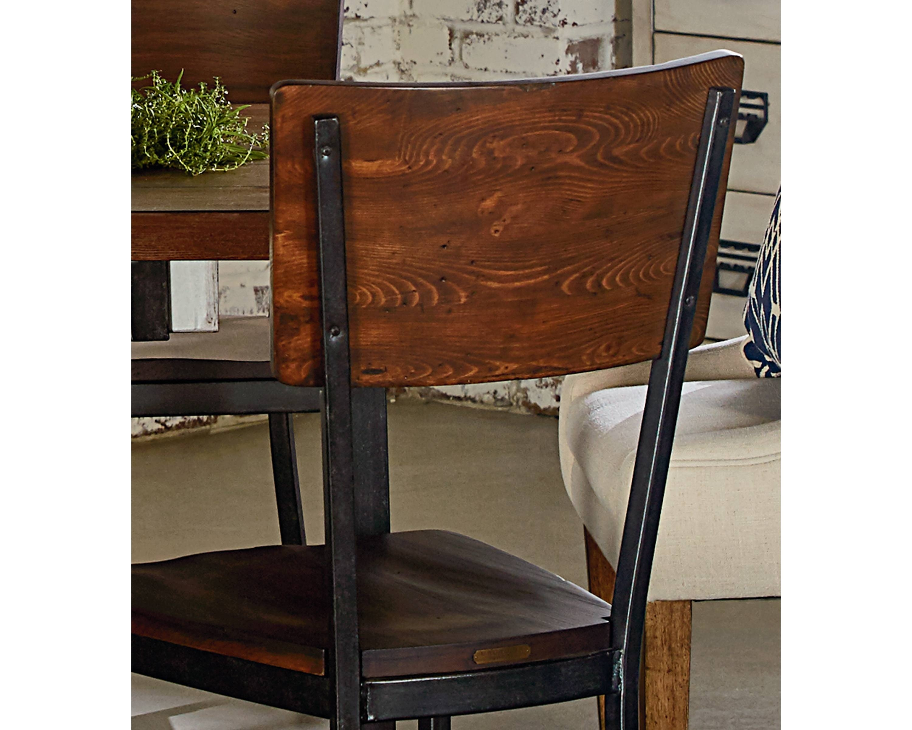 Magnolia Home Contour Milk Crate Side Chairs Regarding Best And Newest Contour Side Chair – Magnolia Home (#11 of 20)