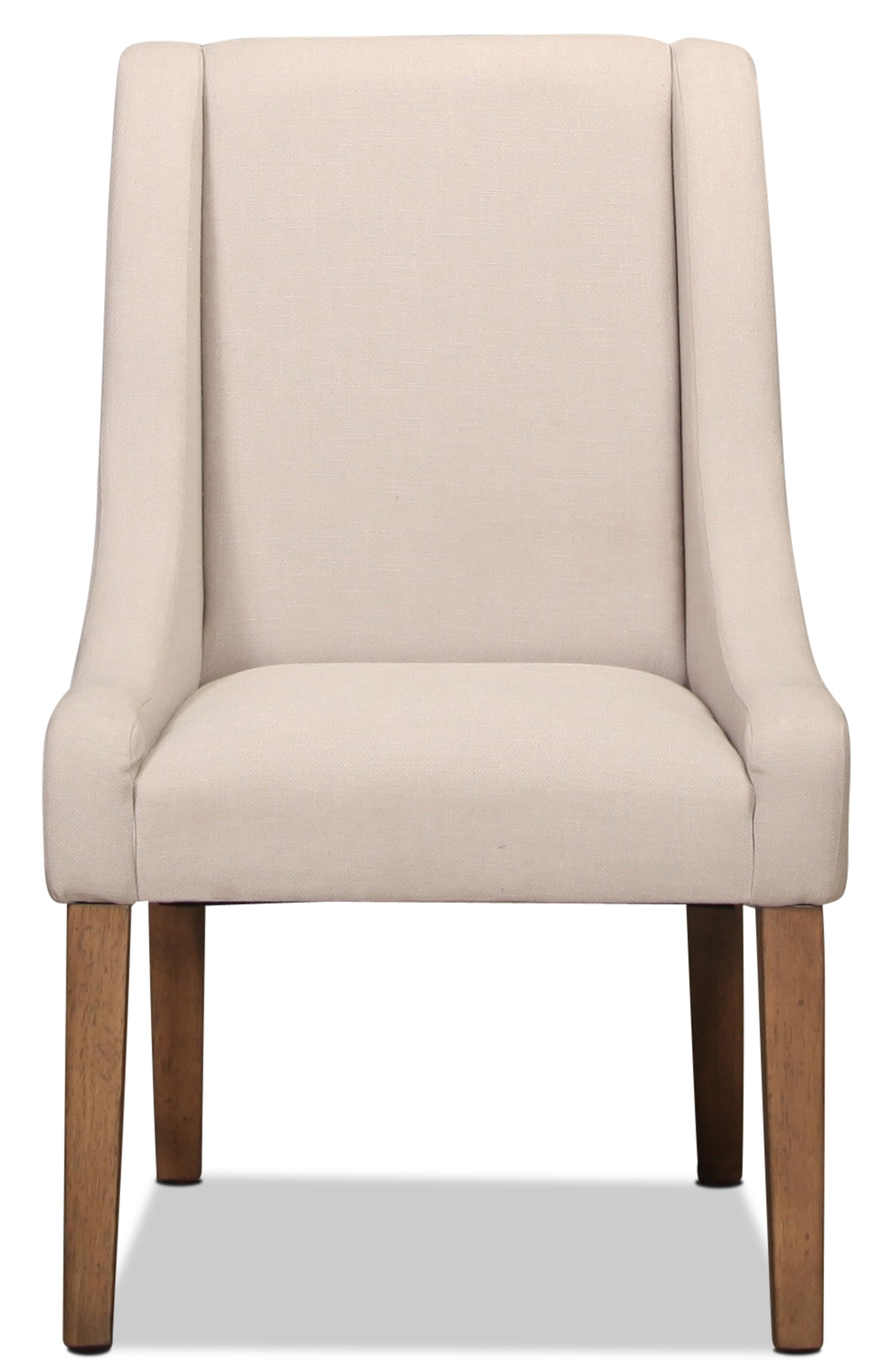 Inspiration about Magnolia Home Demi Flannel Wing Side Chairs Intended For Trendy Magnolia Home French Inspired Side Chair (#6 of 20)