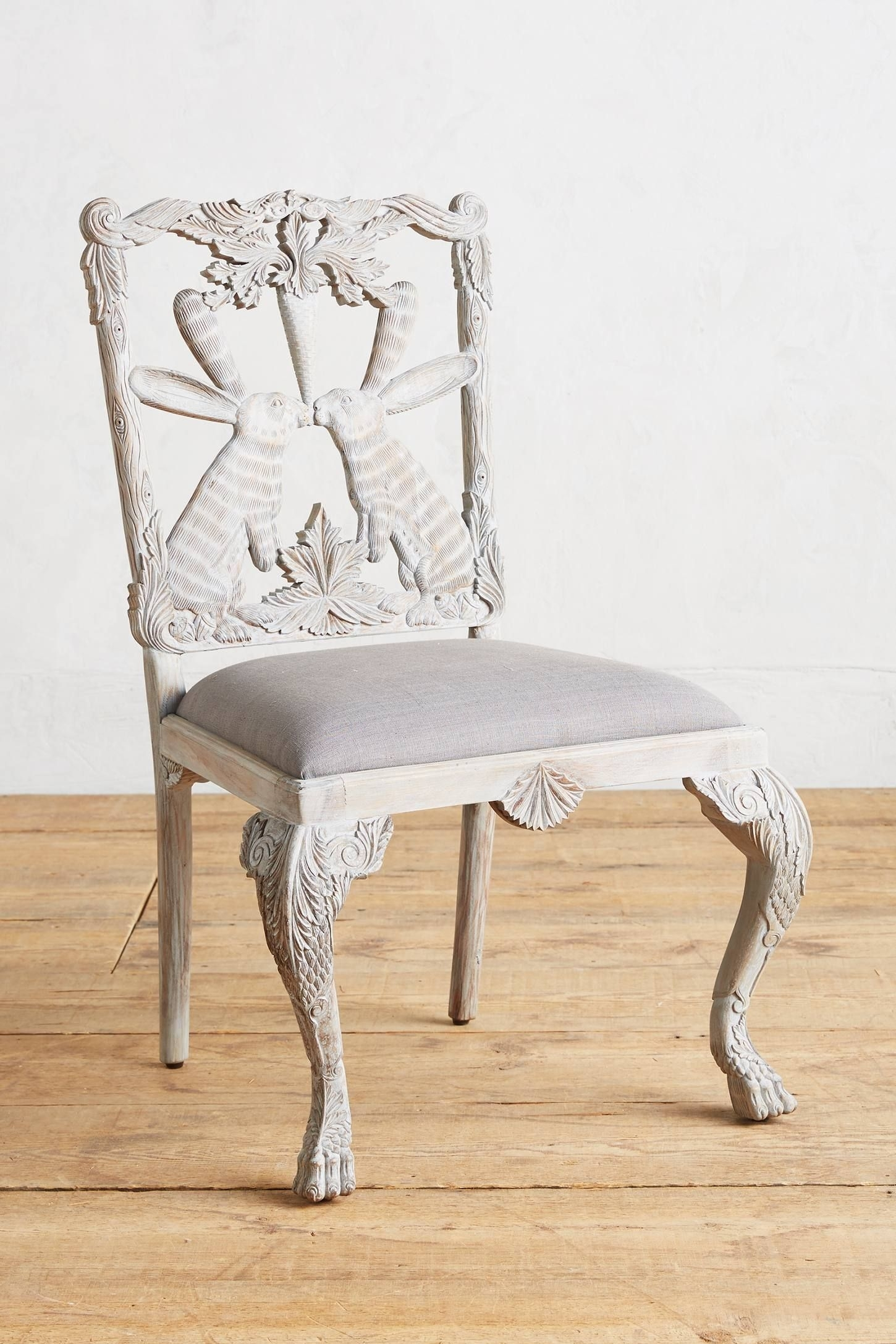Magnolia Home Emery Ivory Burlap Side Chairs Pertaining To Well Liked Magnolia Home Fog Bloom Chair (#11 of 20)