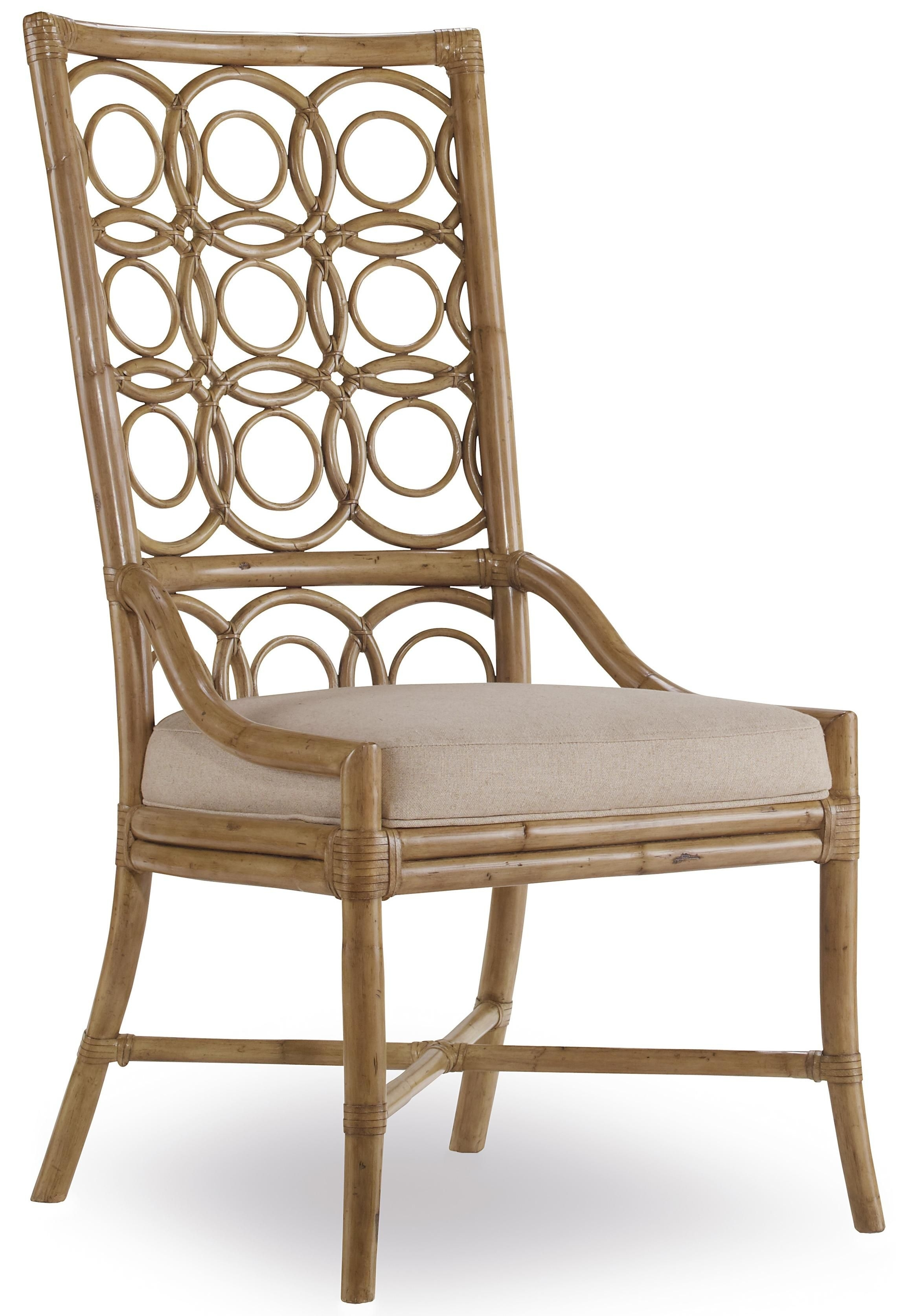 Magnolia Home Entwine Rattan Side Chairs Regarding Favorite Sanctuary Rattan Side Chairhooker Furniture Available At Stc (#9 of 20)