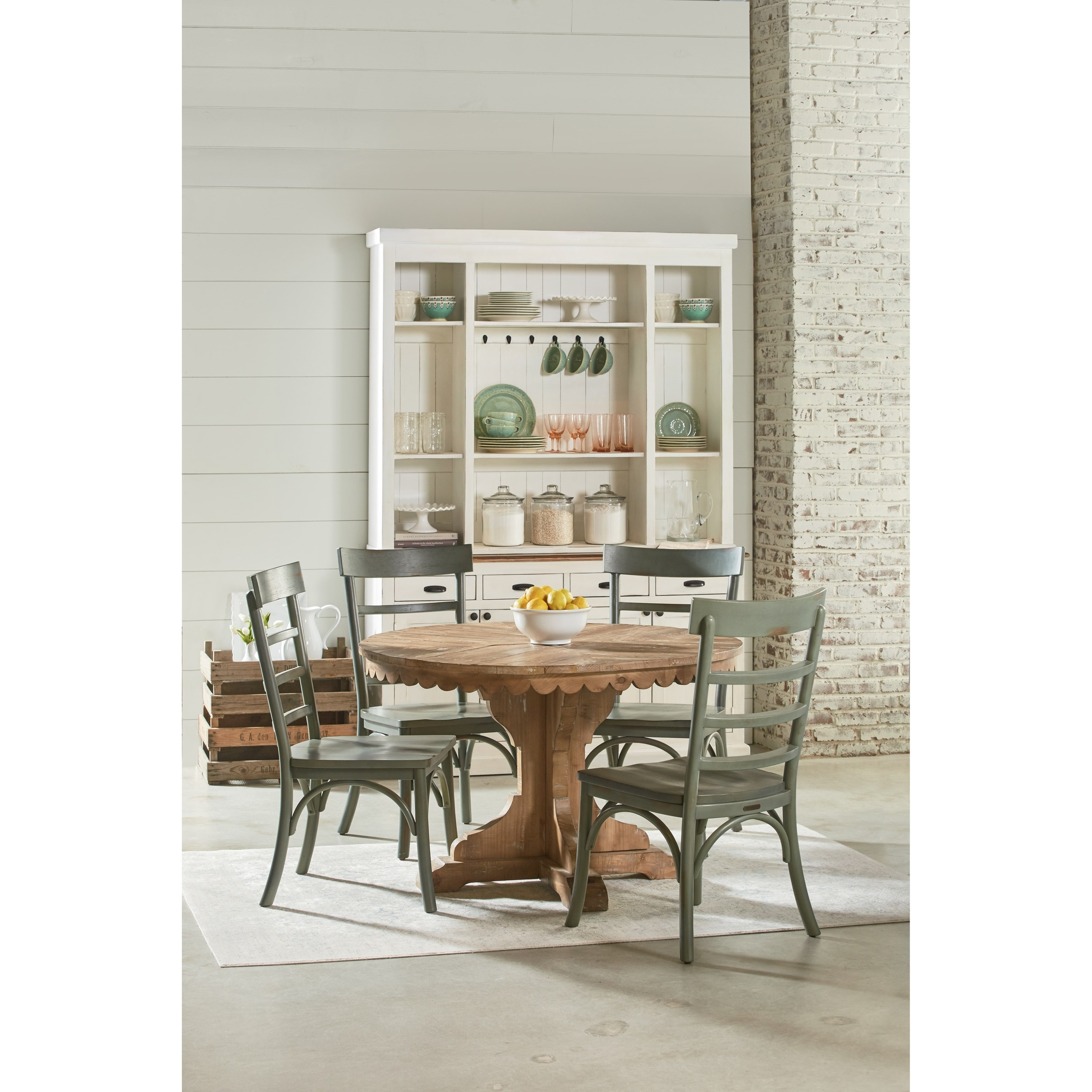 Inspiration about Magnolia Home Harper Patina Side Chairs For Famous Five Piece Round Table And Chair Setmagnolia Homejoanna (#13 of 20)