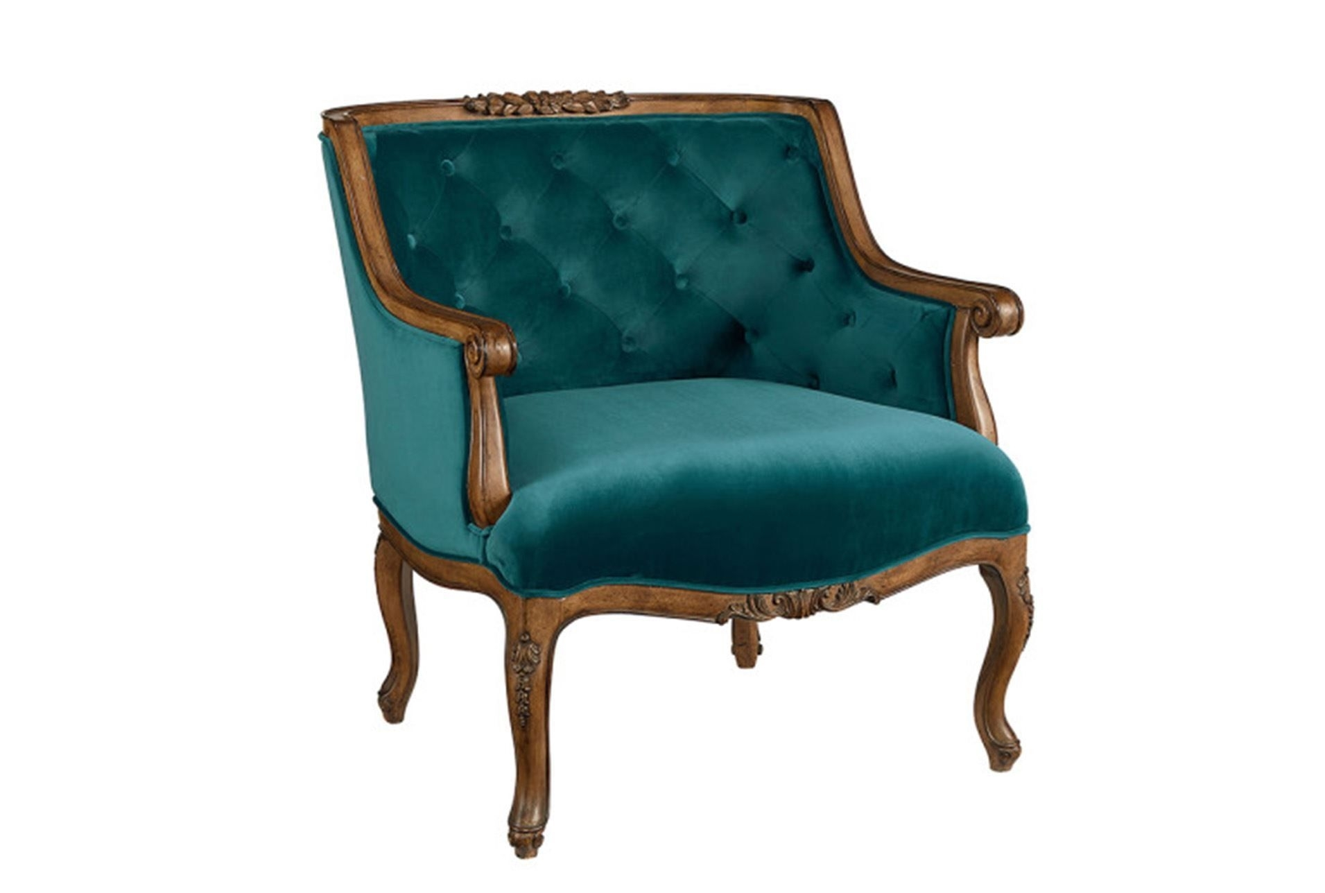 Inspiration about Magnolia Home Harper Patina Side Chairs For Latest Magnolia Home Bloom Teal Accent Chairjoanna Gaines (#16 of 20)