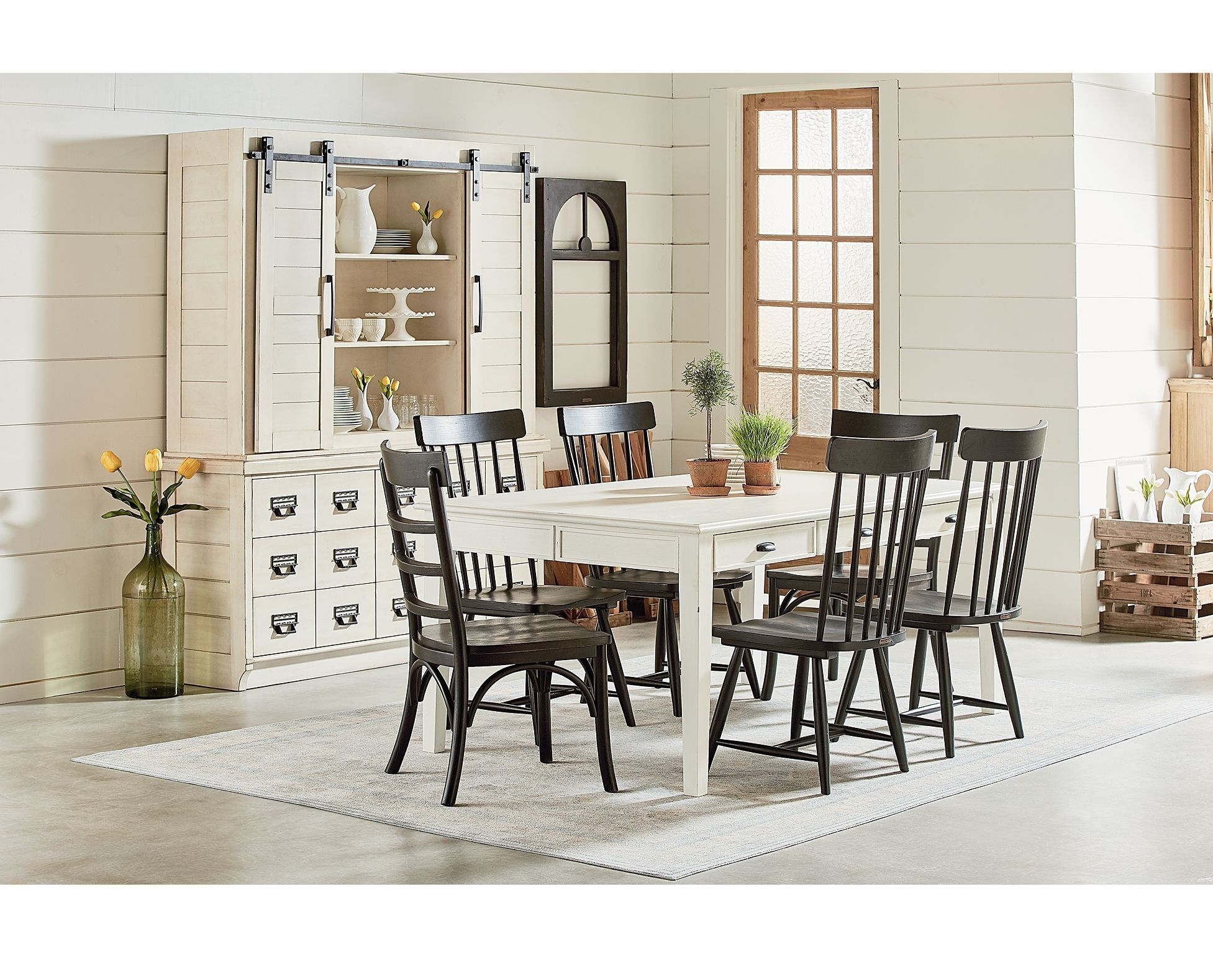 Inspiration about Magnolia Home Harper Patina Side Chairs With Most Recently Released Simple Yet Rustically Charming, The Magnolia Home Farmhouse Dining (#17 of 20)