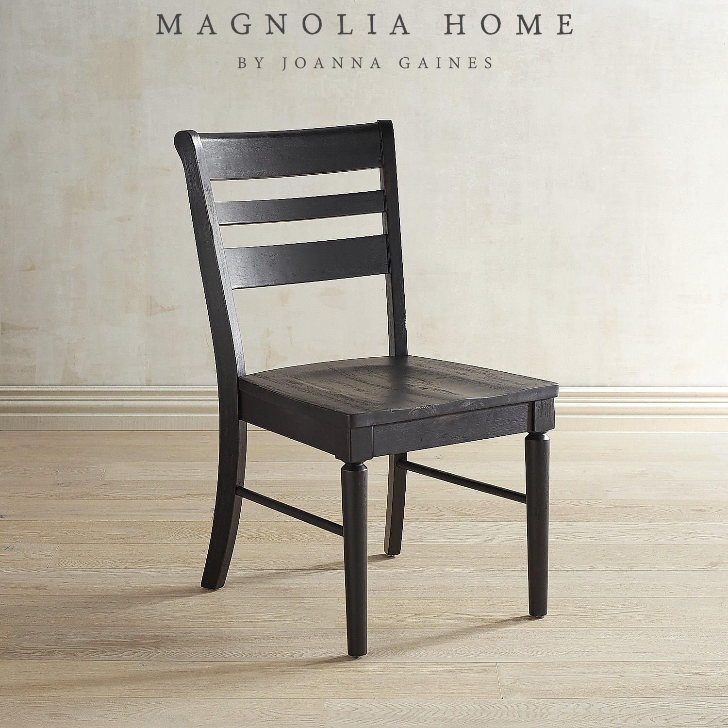 Magnolia Home Kempton Bench Side Chairs Intended For Famous Magnolia Home Kempton Chimney Dining Chair (#8 of 20)