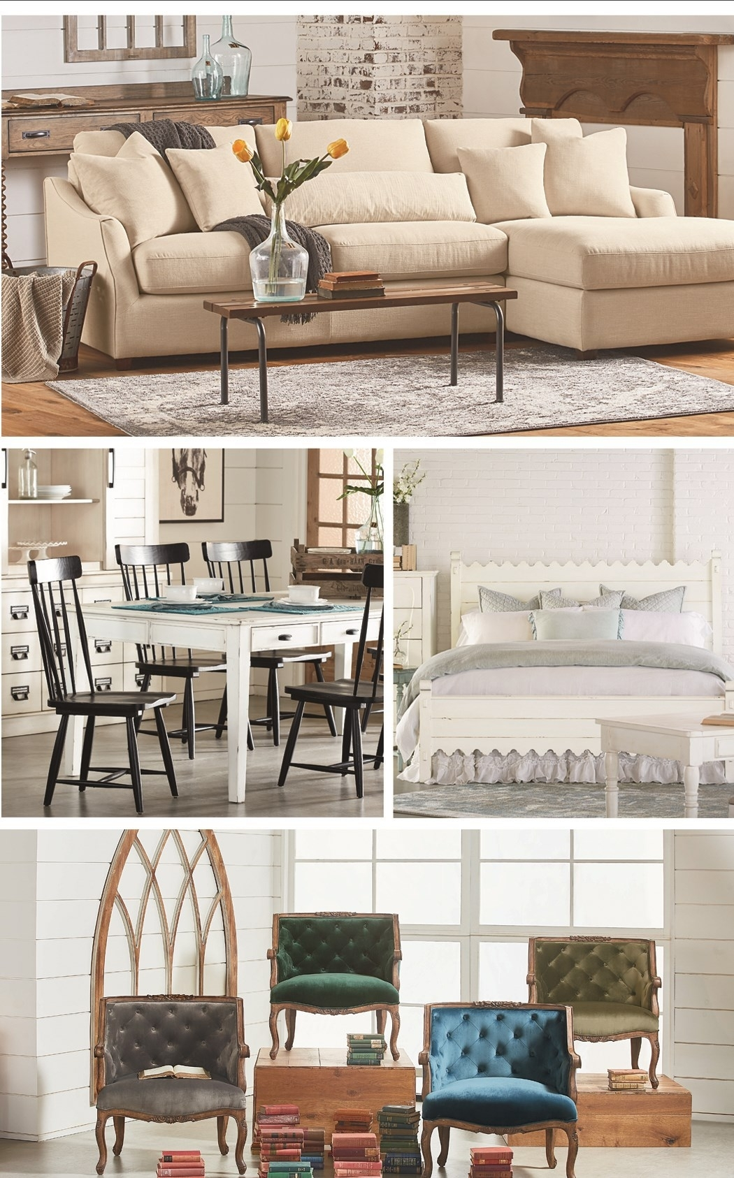 Inspiration about Magnolia Home Molded Shell Saddle Side Chairs Regarding Preferred Magnolia Homejoanna Gaines (#11 of 20)