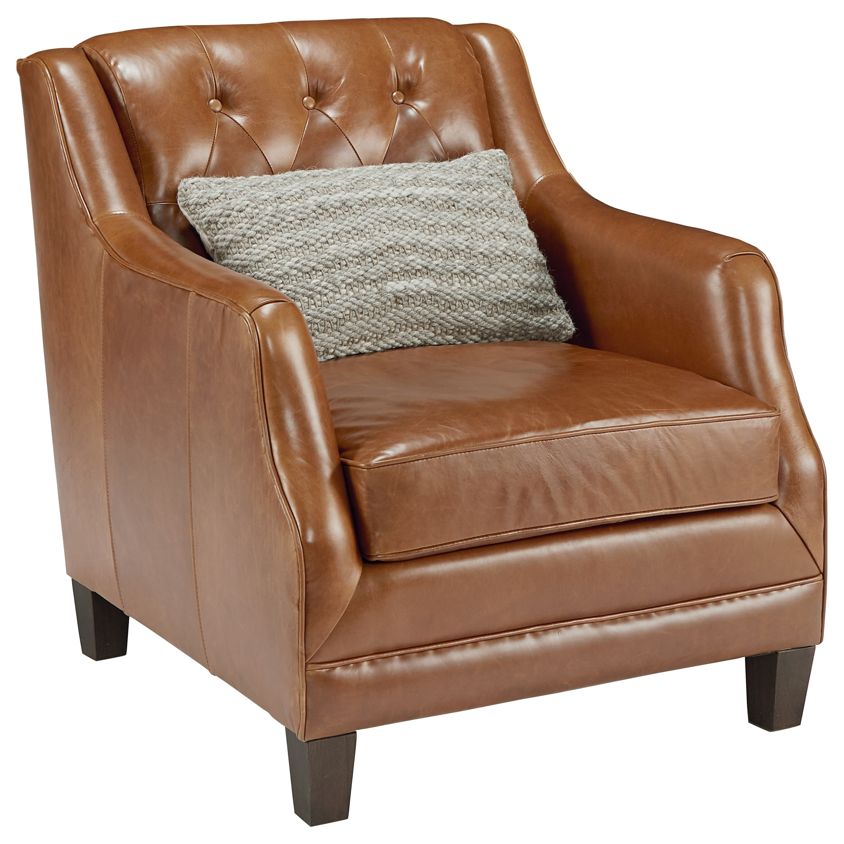 Inspiration about Magnolia Home Revival Arm Chairs Intended For Most Current Leather Upholstered Chair With Button Tuftingmagnolia Home (#8 of 20)